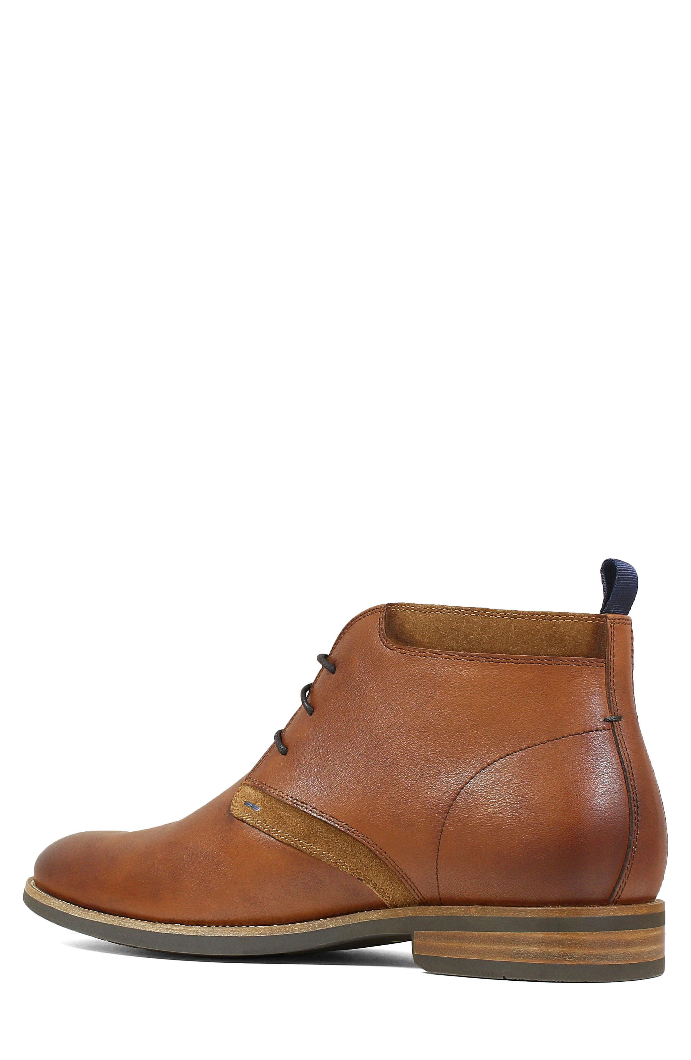 FLORSHEIM, Uptown Chukka Boot, Alternate thumbnail 2, color, COGNAC LEATHER