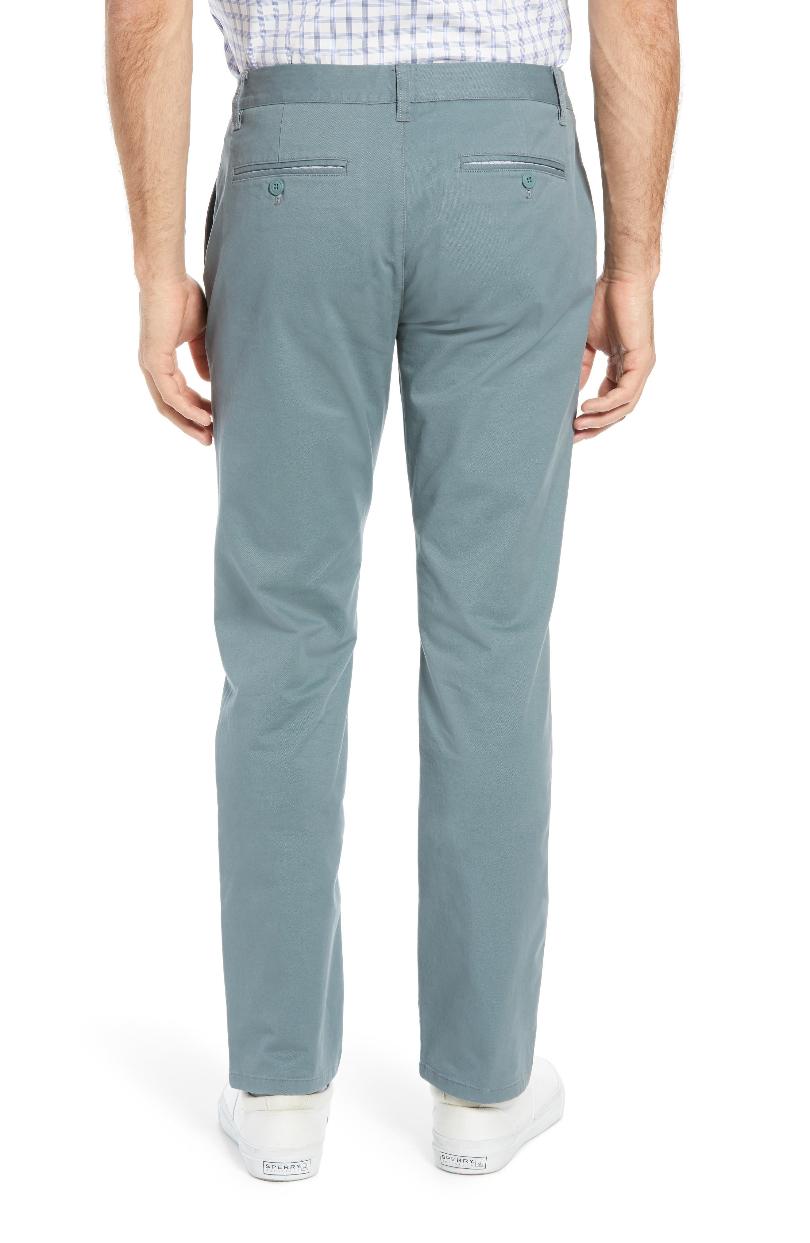 BONOBOS, Slim Fit Stretch Washed Chinos, Alternate thumbnail 2, color, NOPALES