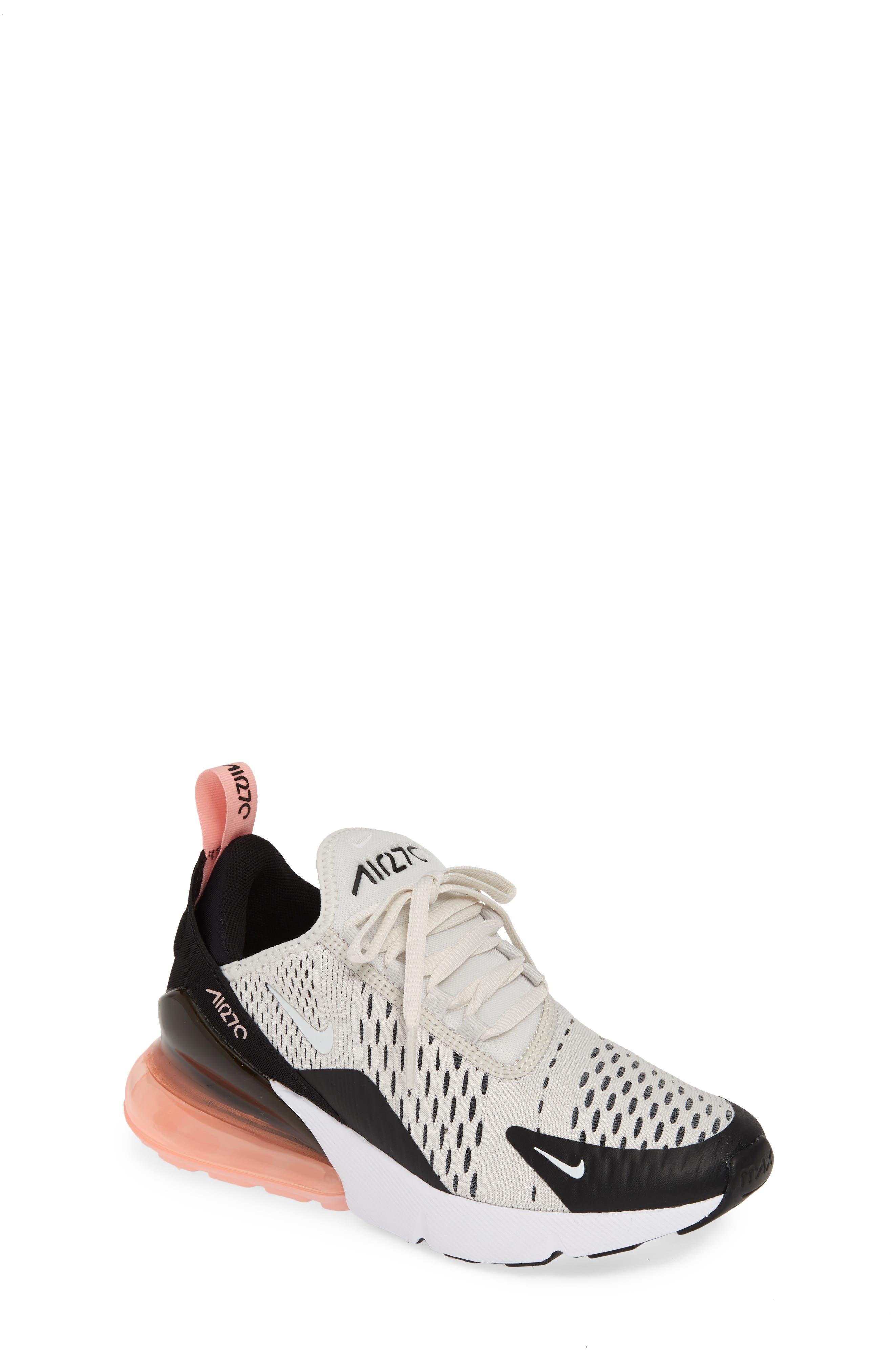 best service 31980 fea5f Kid s Nike Air Max 270 Sneaker- Metallic