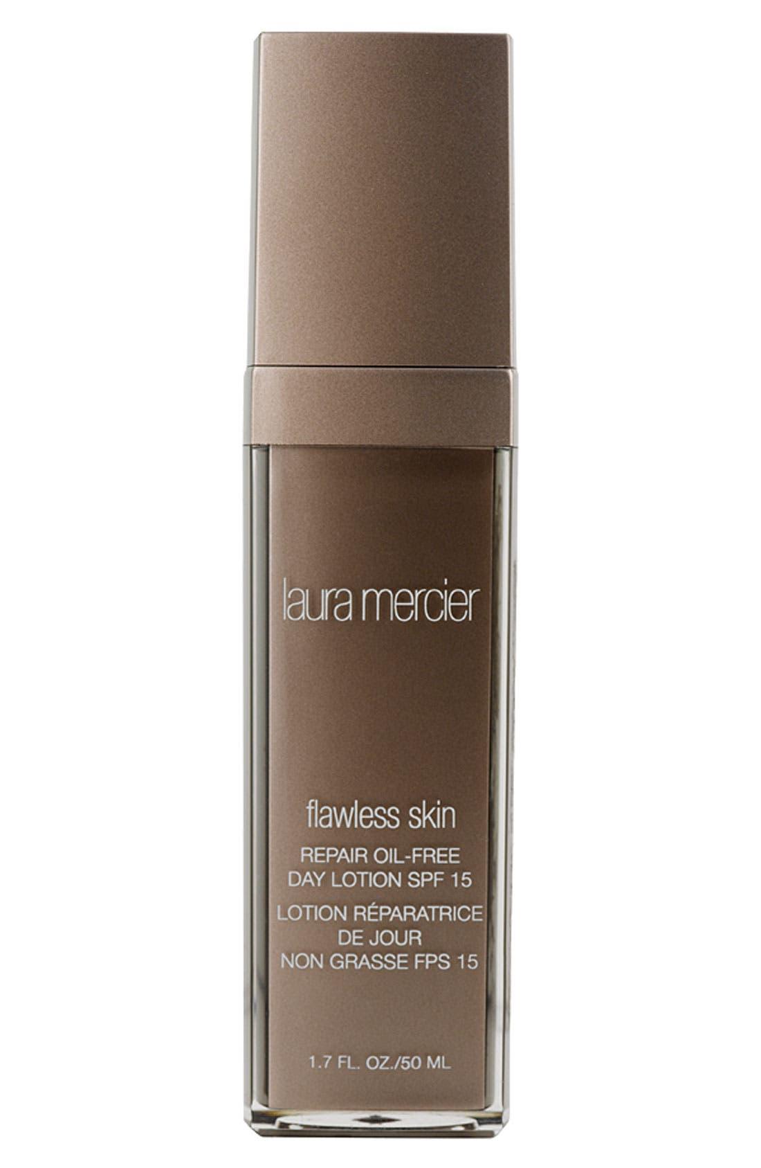 LAURA MERCIER, 'Flawless Skin Repair' Oil-Free Day Lotion SPF 15, Main thumbnail 1, color, NO COLOR