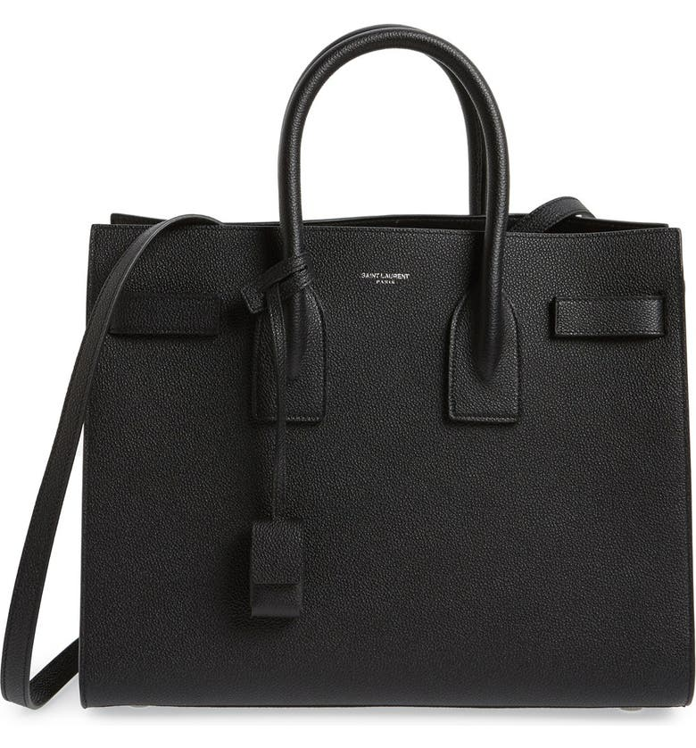 4ab93b7acdae Saint Laurent  Small Sac de Jour  Leather Tote