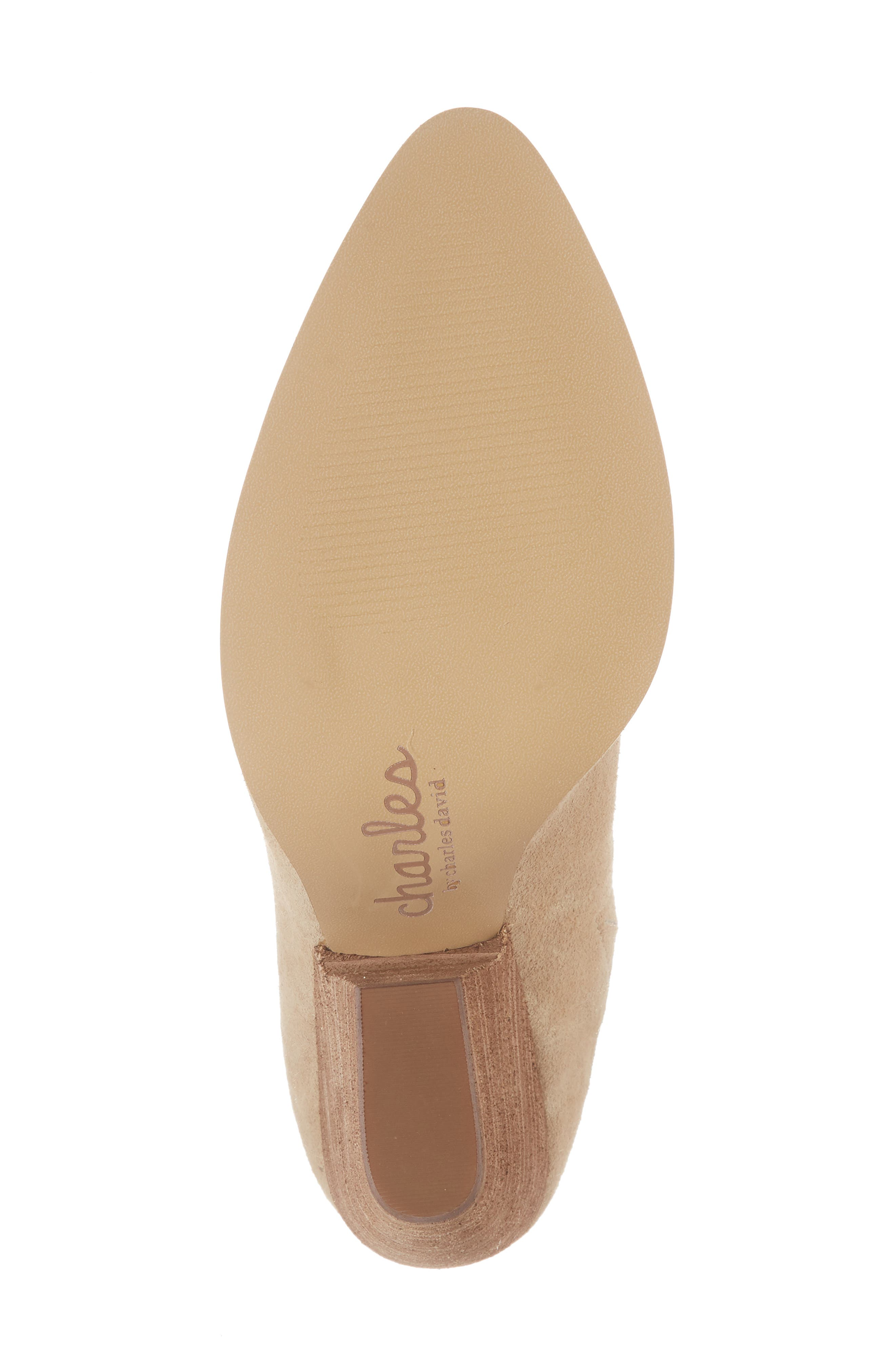 CHARLES BY CHARLES DAVID, Nico Mule, Alternate thumbnail 6, color, NUDE LIGHT GOLD SUEDE