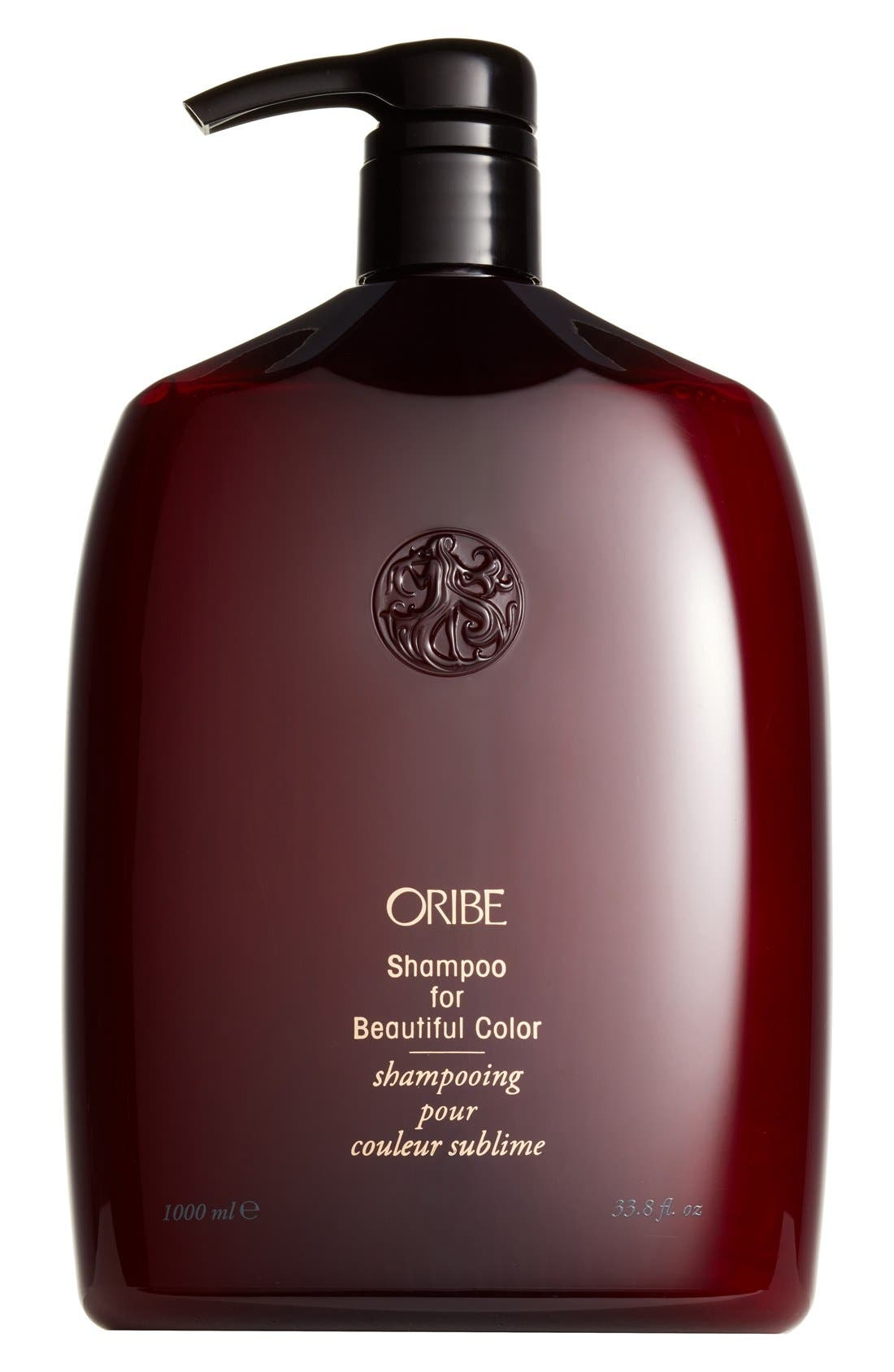 ORIBE, SPACE.NK.apothecary Oribe Shampoo for Beautiful Color, Alternate thumbnail 4, color, NO COLOR