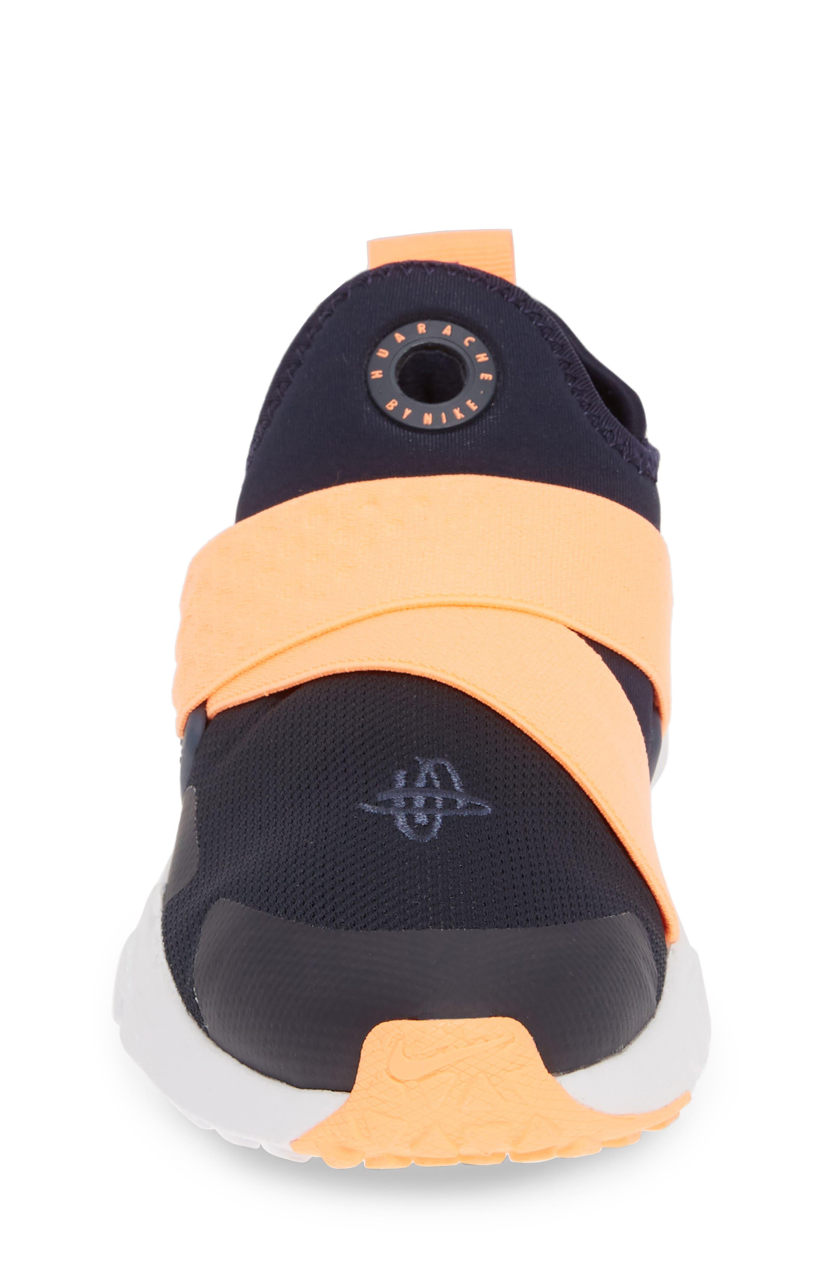 NIKE, Huarache Extreme Sneaker, Alternate thumbnail 4, color, OBSIDIAN/ POLARIZED BLUE-BLUE