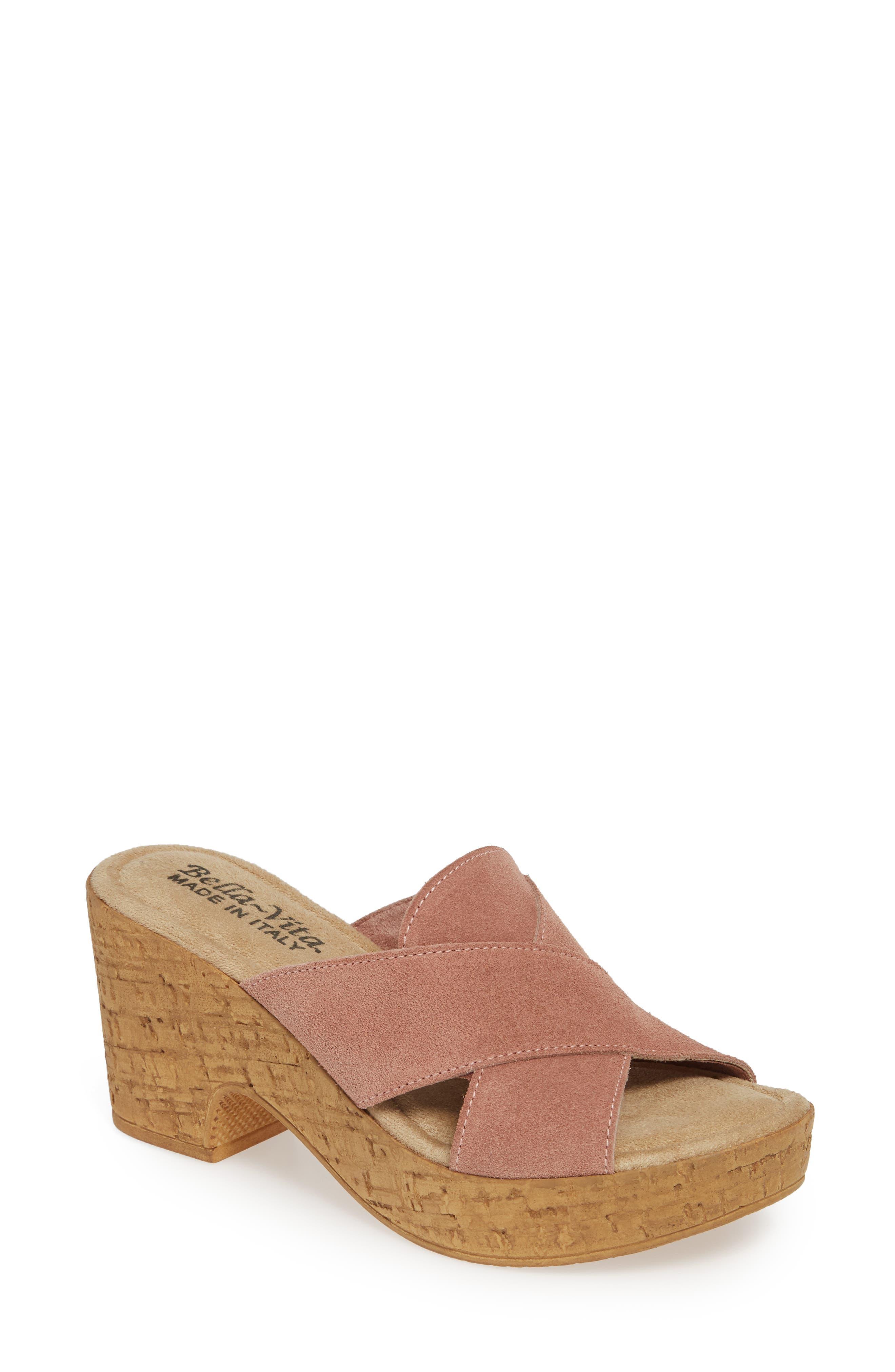 Bella Vita Platform Sandal, Pink