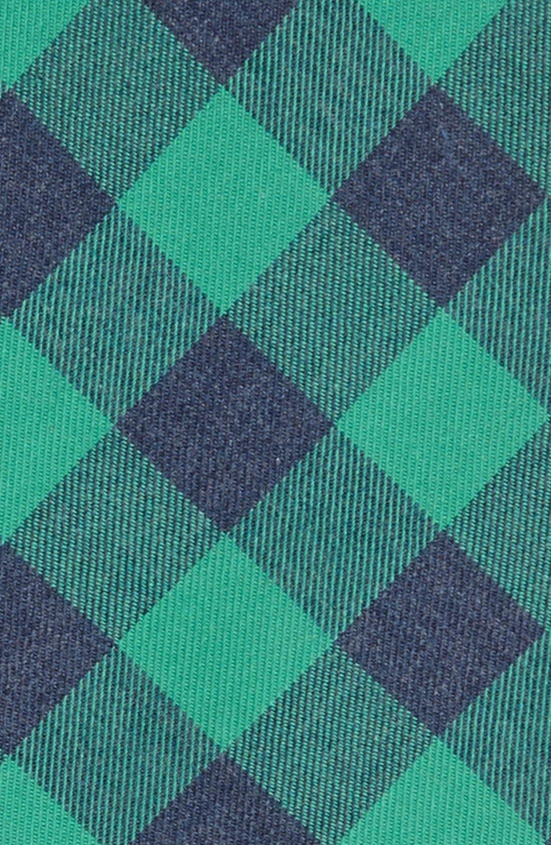 GITMAN, Woven Cotton Tie, Alternate thumbnail 2, color, 300