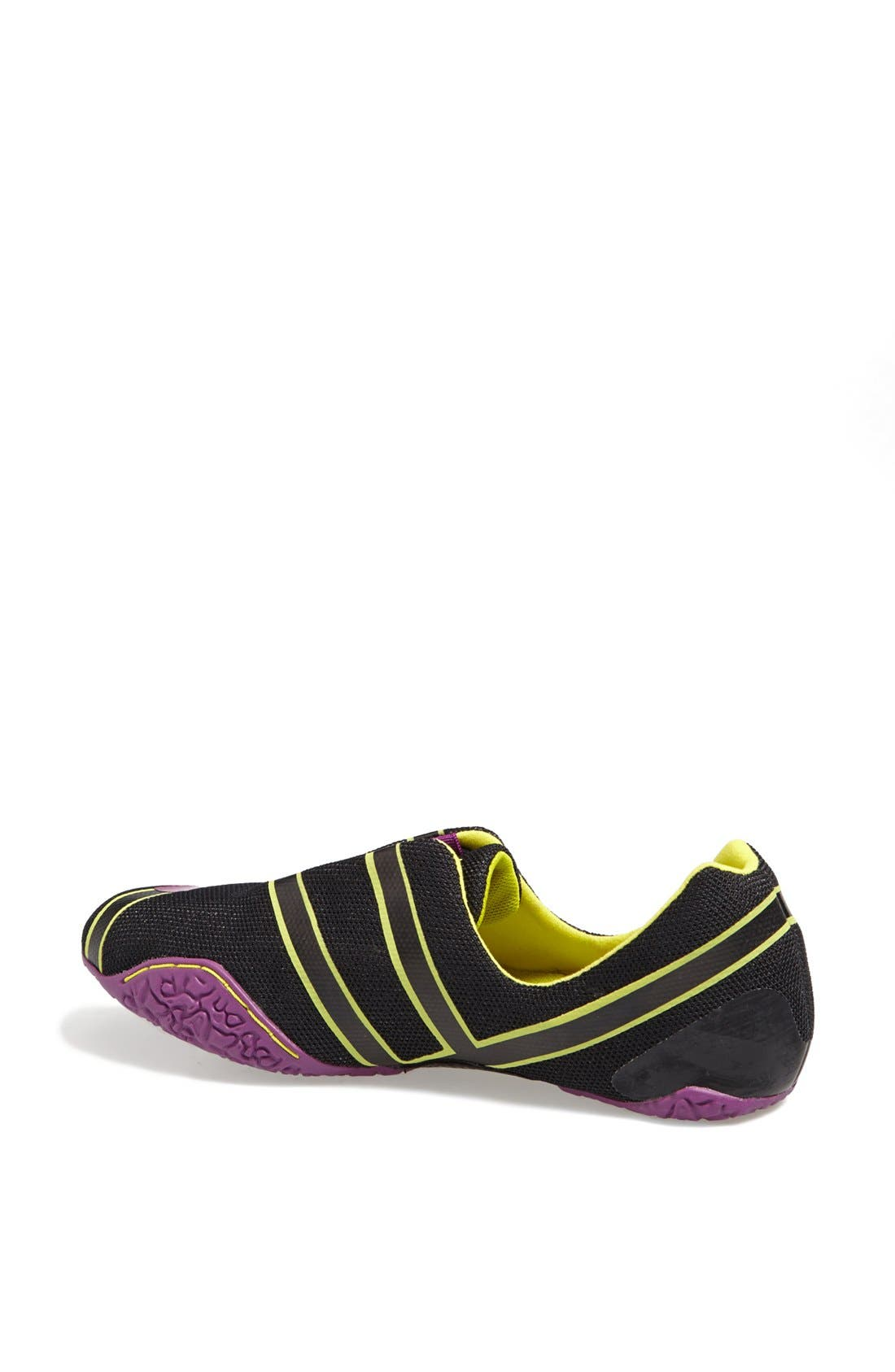 PUMA, 'Anaida' Foldable Sneaker, Alternate thumbnail 3, color, 001
