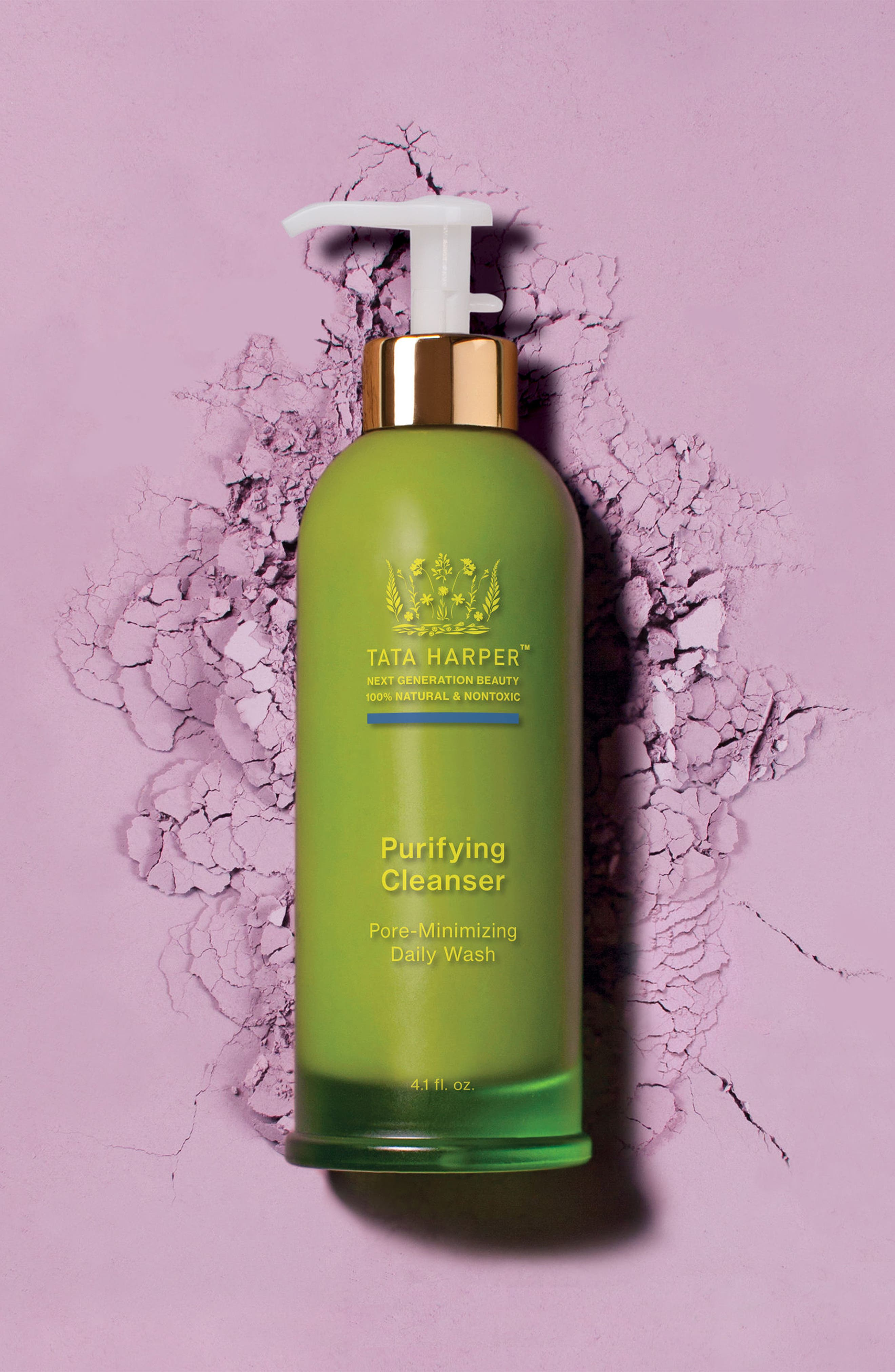 TATA HARPER SKINCARE, Purifying Cleanser, Alternate thumbnail 4, color, NO COLOR