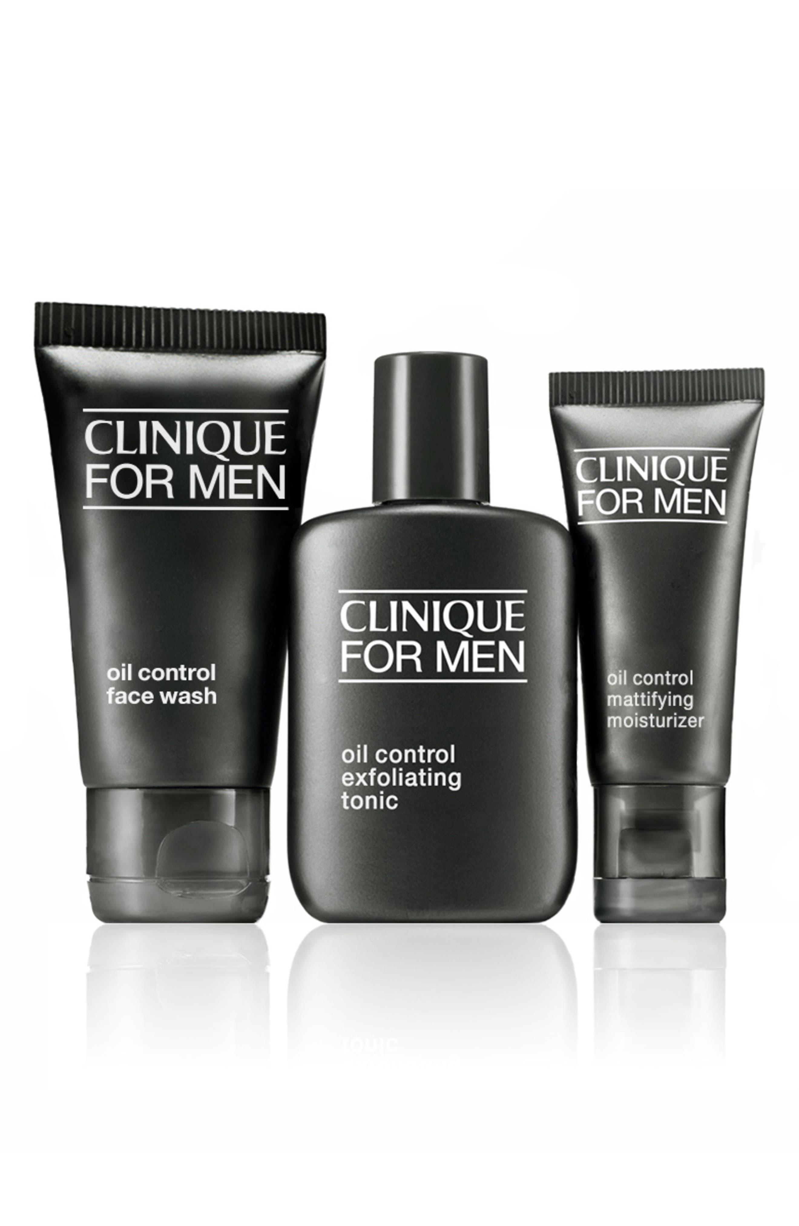 CLINIQUE, for Men Oil Control Face Wash, Alternate thumbnail 2, color, NO COLOR
