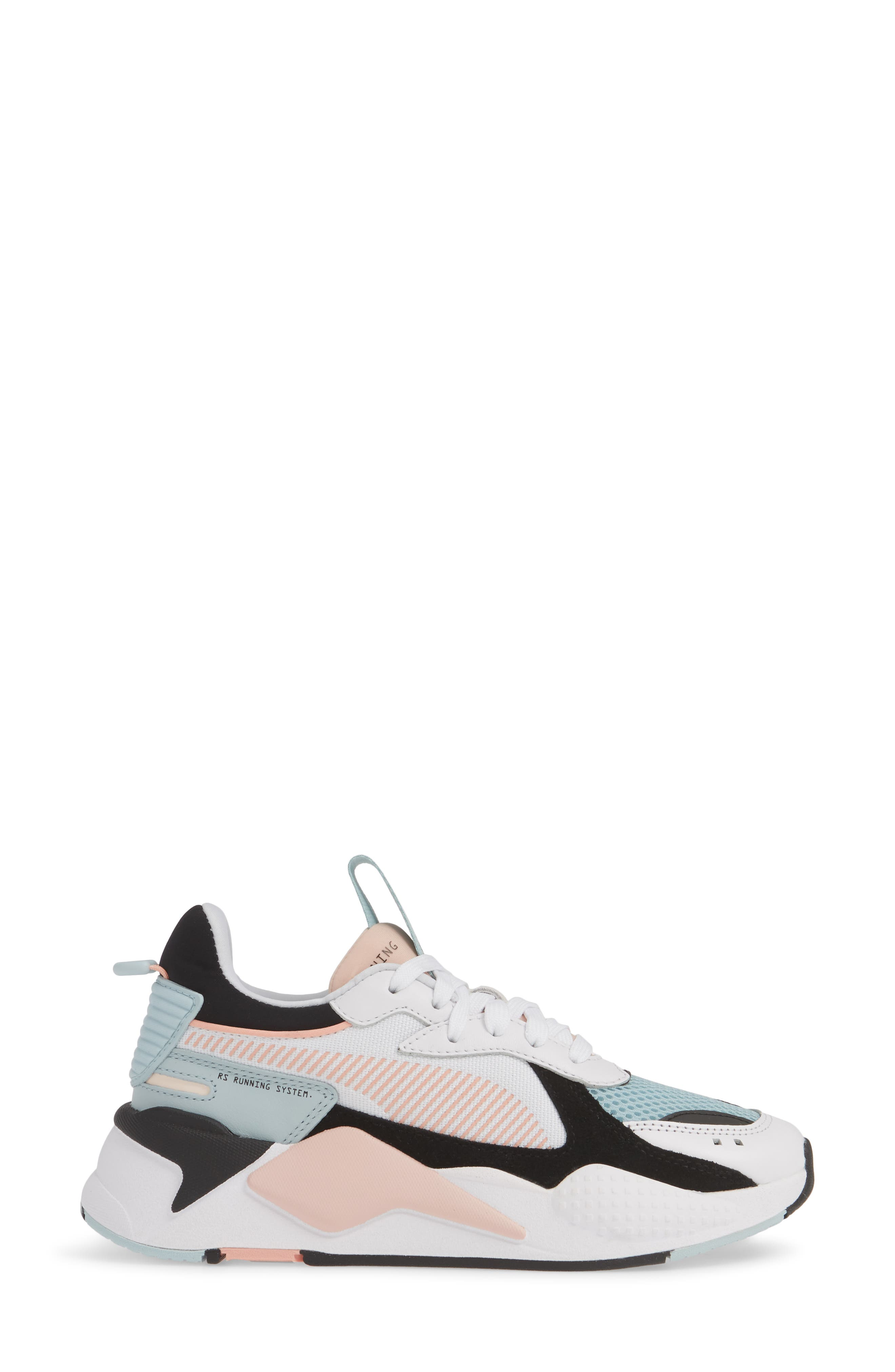 PUMA, RS-X Reinvention Sneaker, Alternate thumbnail 3, color, 100