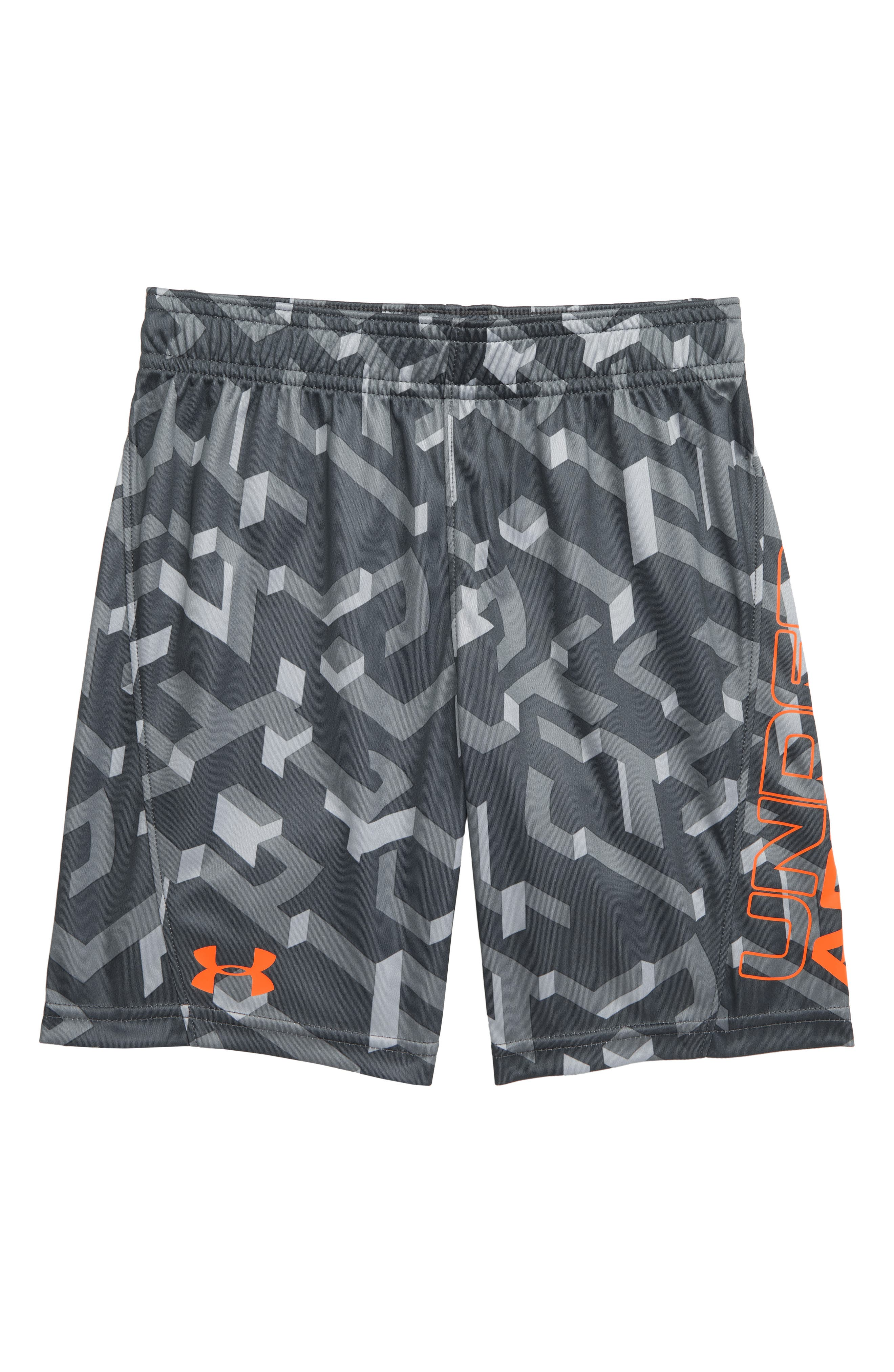 UNDER ARMOUR, Knockout Boost HeatGear<sup>®</sup> Shorts, Main thumbnail 1, color, 050