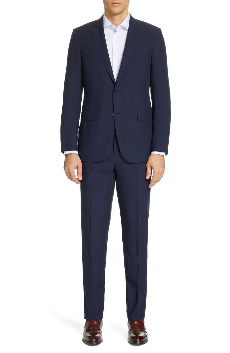 3ba8899baaf10 Ermenegildo Zegna Men's Leggerissimo Two-Piece Solid Wool-Silk Suit In Navy