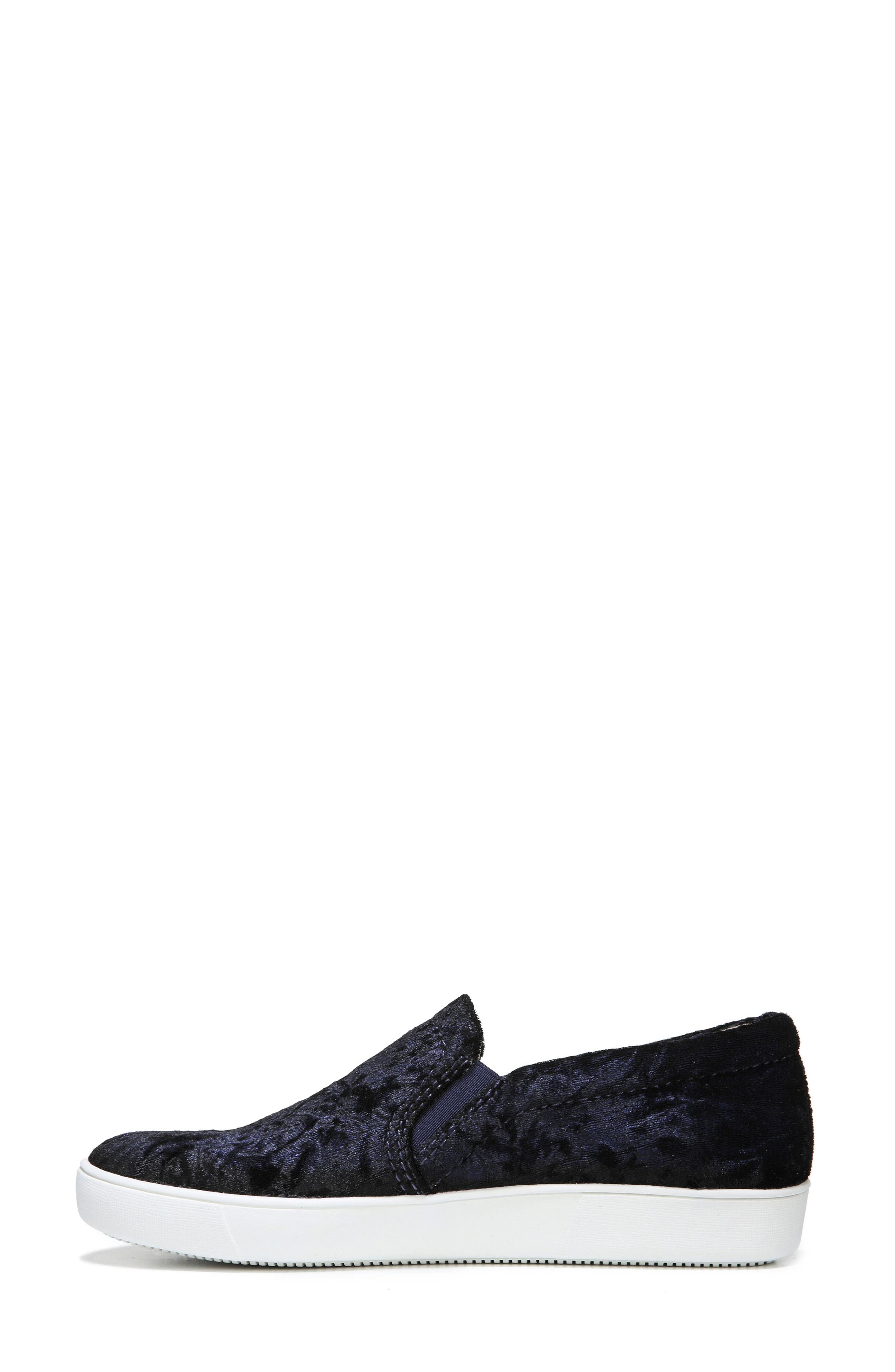 NATURALIZER, Marianne Slip-On Sneaker, Alternate thumbnail 7, color, NAVY VELVET