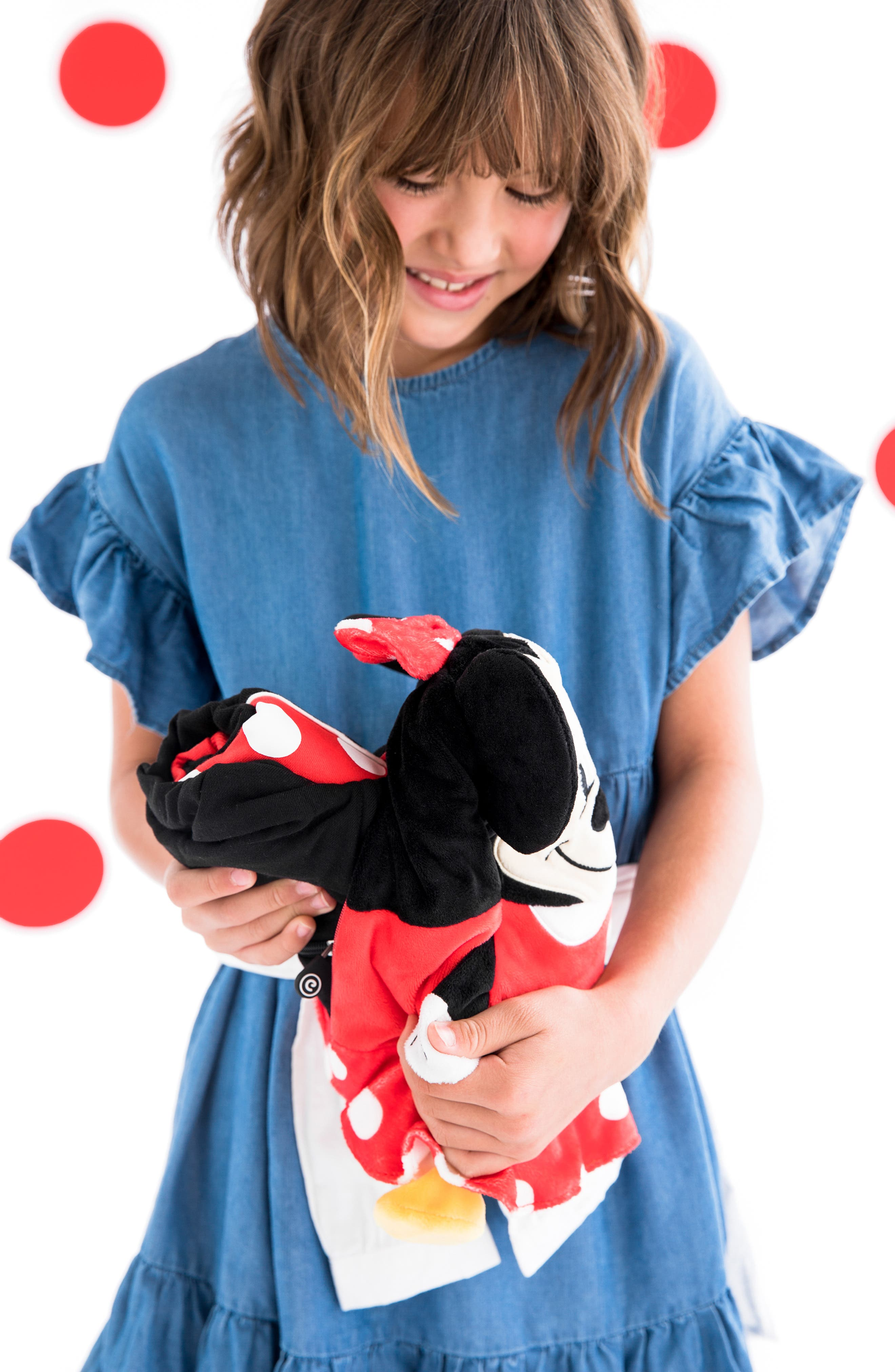CUBCOATS, Disney Minnie Mouse 2-in-1 Stuffed Animal Hoodie, Alternate thumbnail 8, color, 001