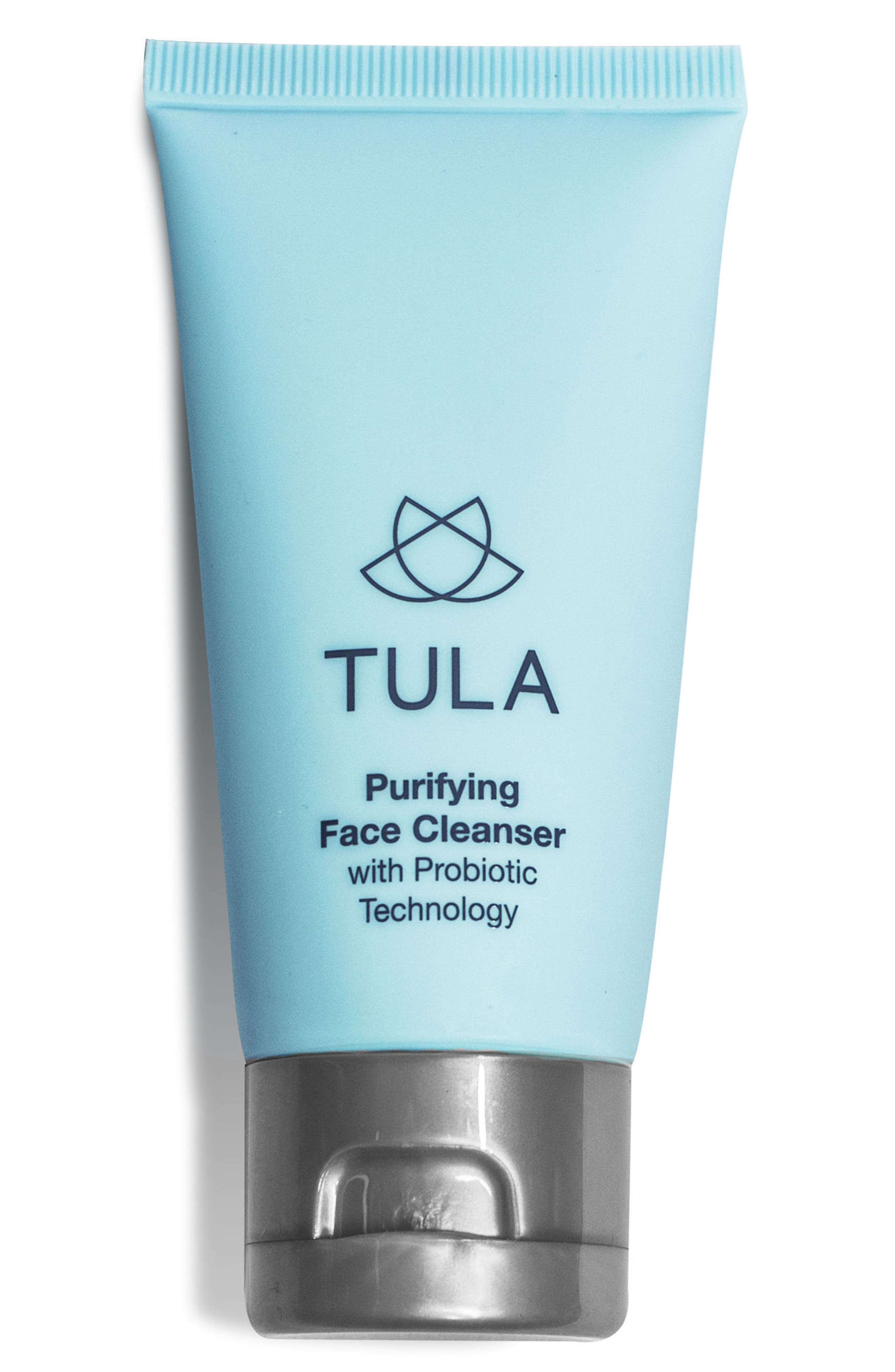 TULA PROBIOTIC SKINCARE, Purifying Face Cleanser, Main thumbnail 1, color, NO COLOR