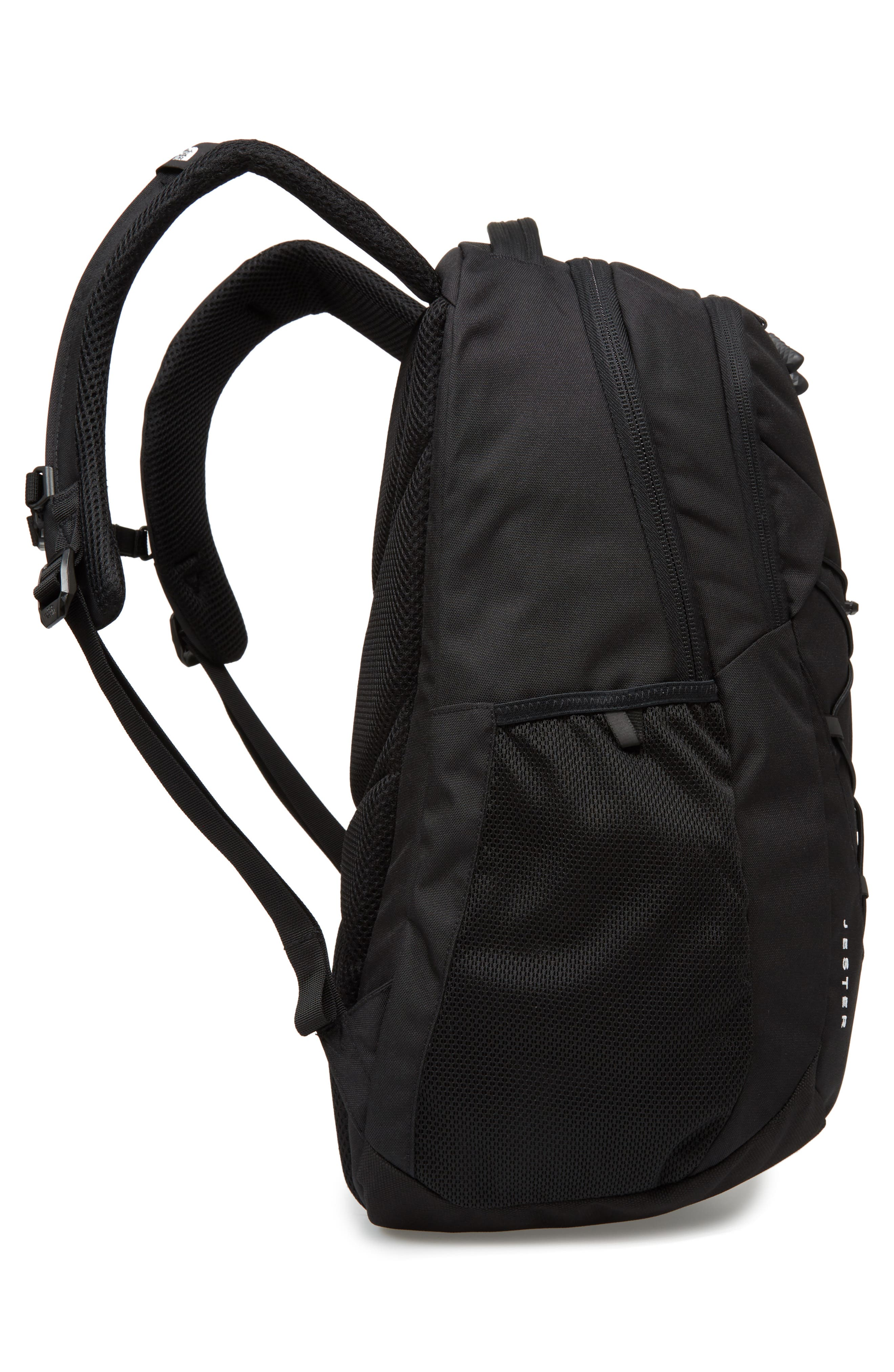 THE NORTH FACE, 'Jester' Backpack, Alternate thumbnail 6, color, TNF BLACK