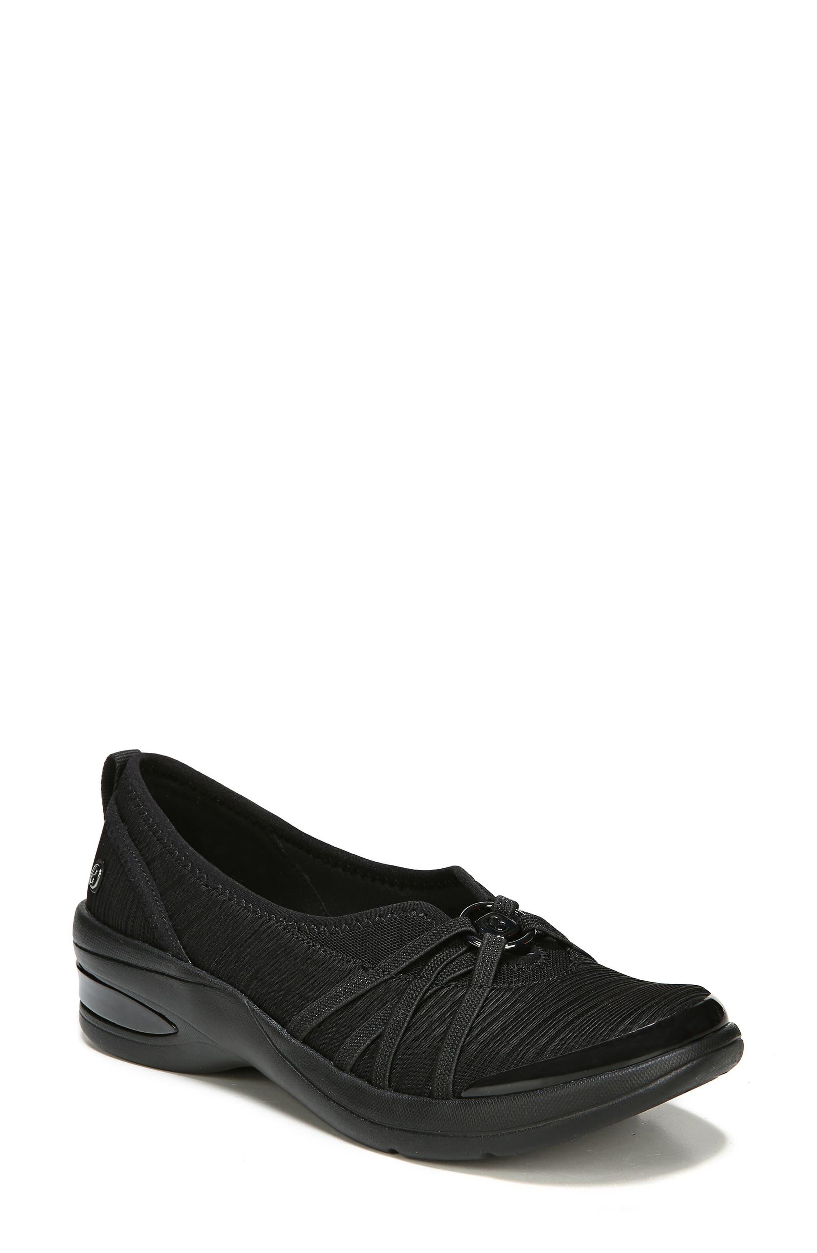 BZEES Rosie Sneaker, Main, color, BLACK GRADIENT FABRIC