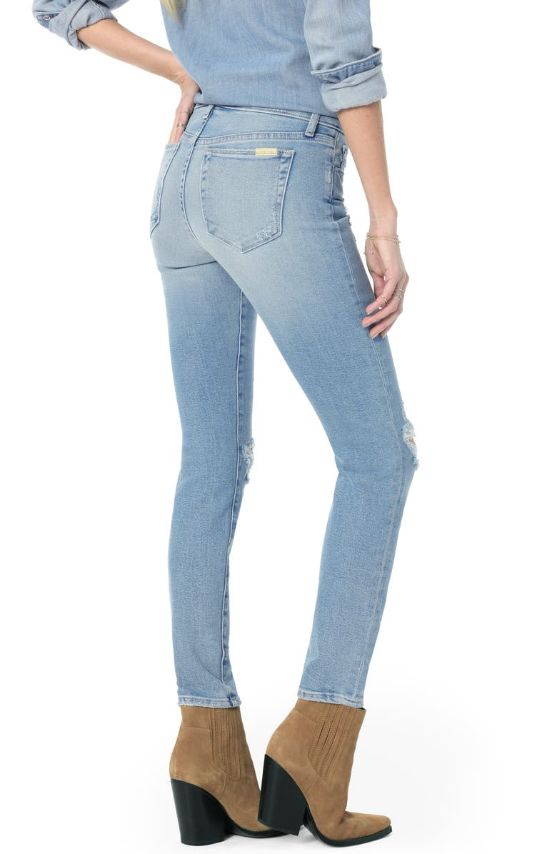 52a639883499 Joe's Flawless - Icon Ripped Ankle Skinny Jeans In Shailene | ModeSens