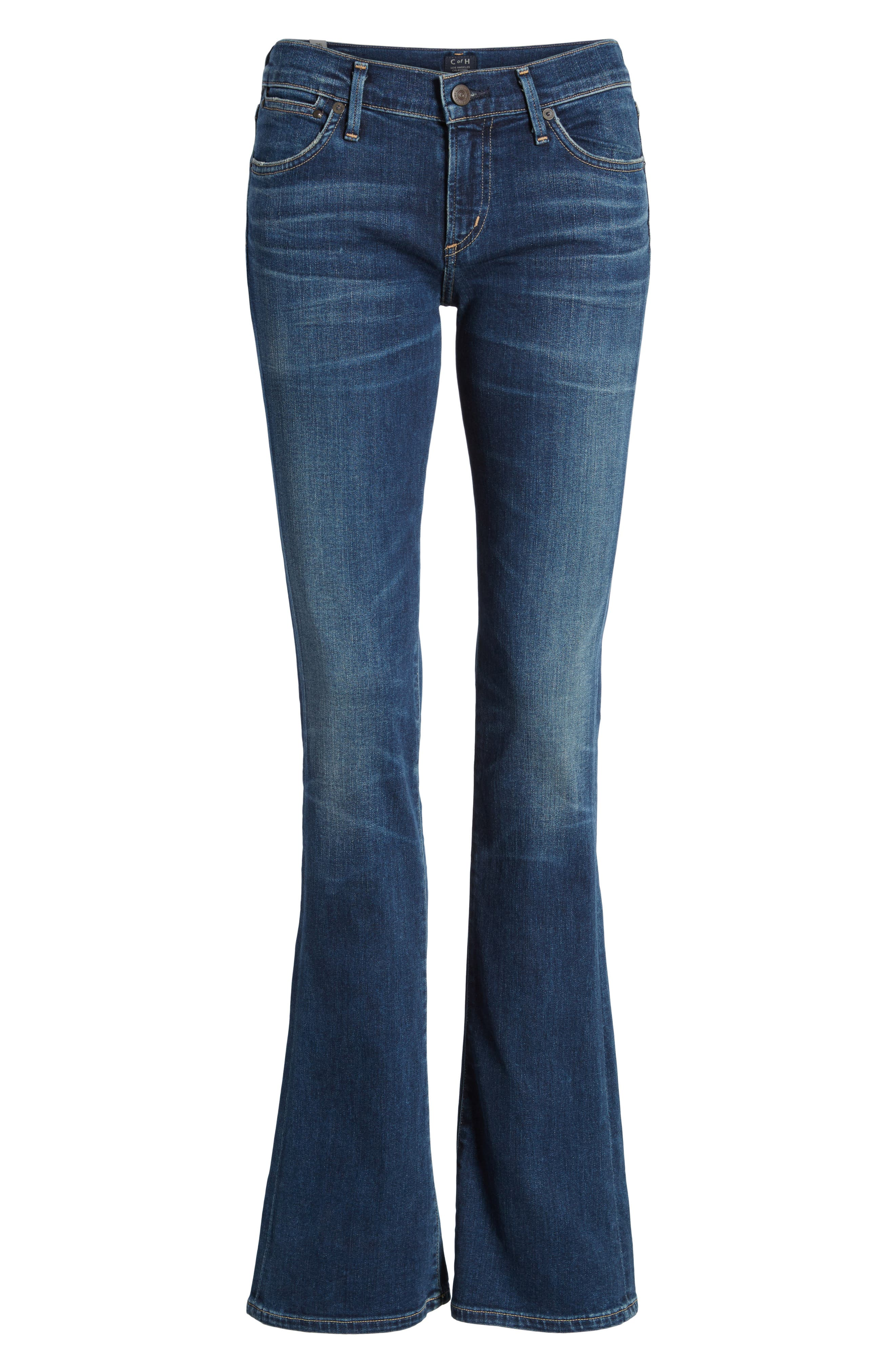 CITIZENS OF HUMANITY, 'Emannuelle' Slim BootcutJeans, Alternate thumbnail 2, color, MODERN LOVE