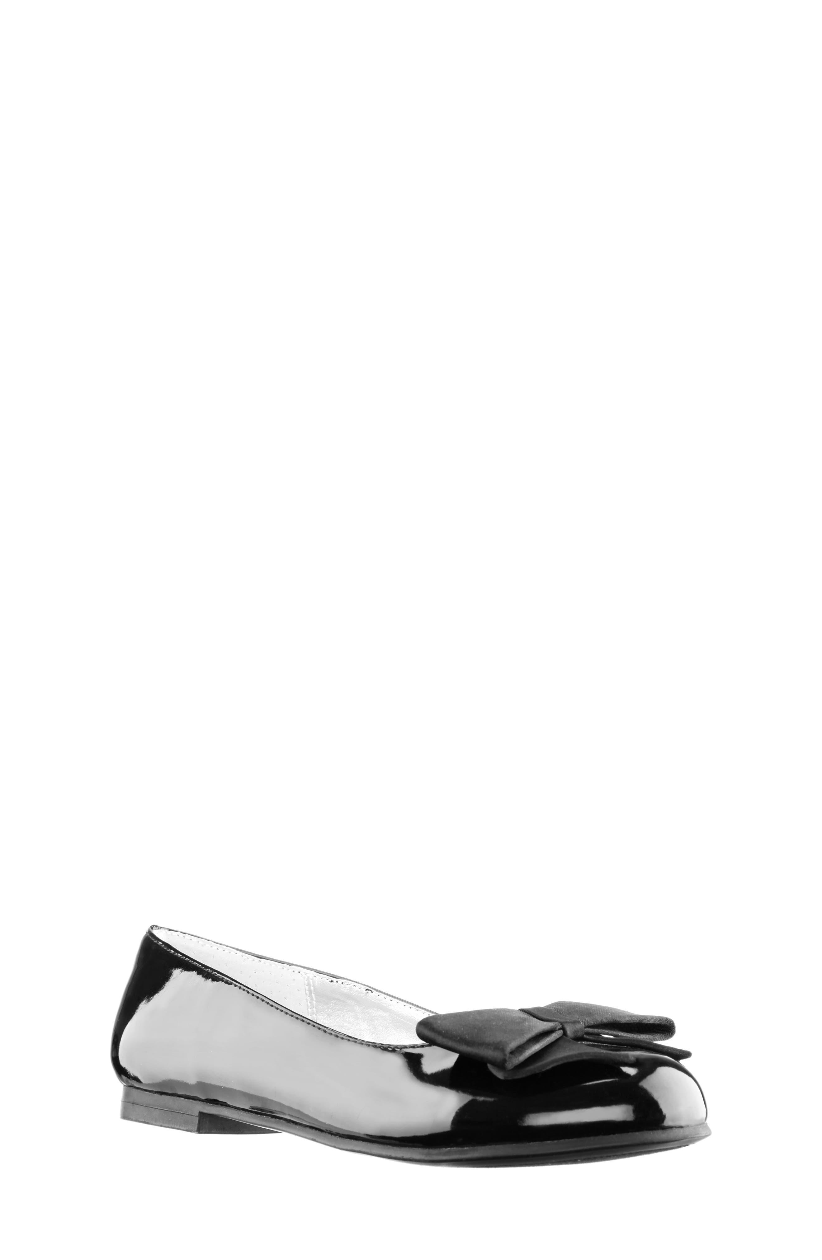 NINA, 'Pegasus' Flat, Alternate thumbnail 2, color, BLACK PATENT