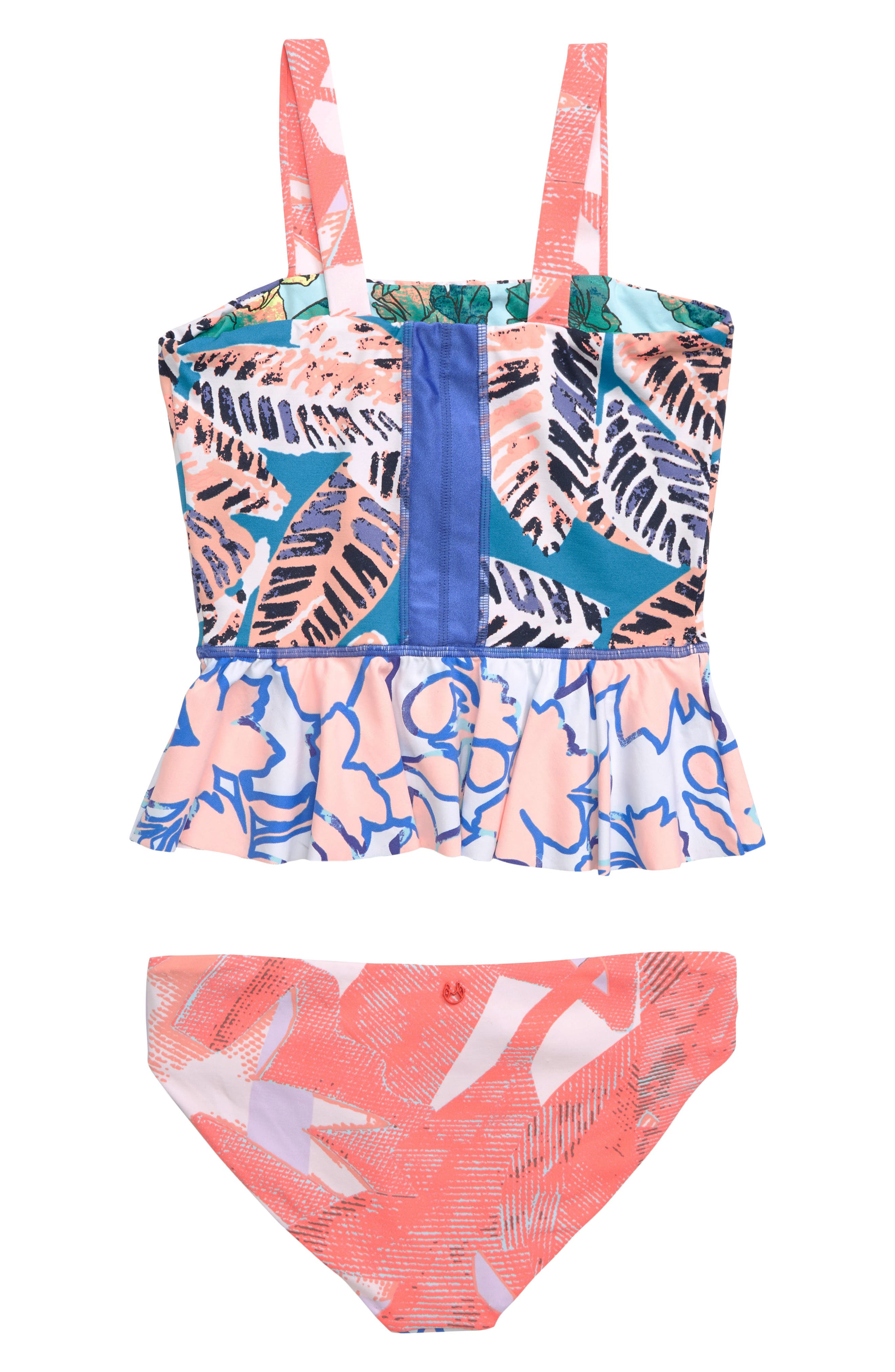 MAAJI, Waterscape Love Reversible Two-Piece Swimsuit, Alternate thumbnail 2, color, MULTICOLOR