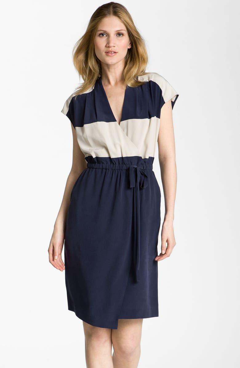 3ce30c87b4 Fluid Silk Wrap Dress