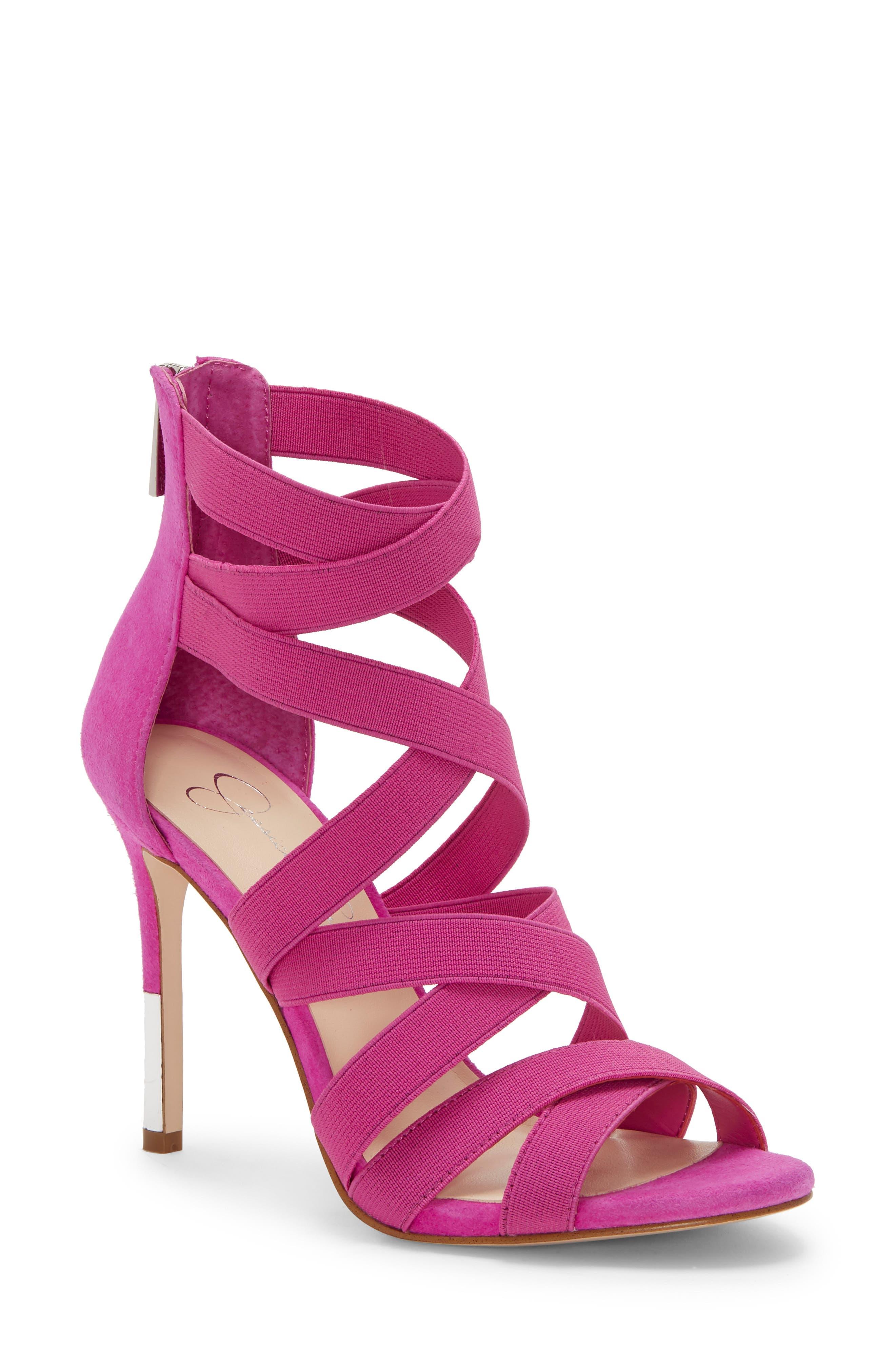 Jessica Simpson Jyra 2 Sandal, Red