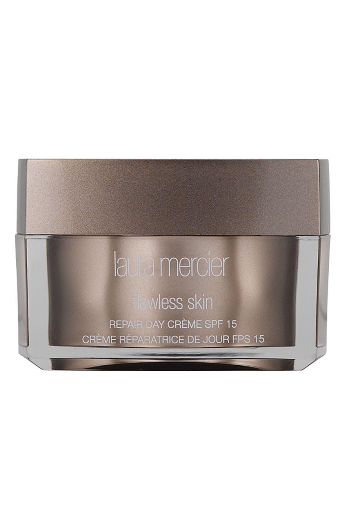 LAURA MERCIER, 'Flawless Skin' Repair Day Crème SPF 15, Main thumbnail 1, color, NO COLOR