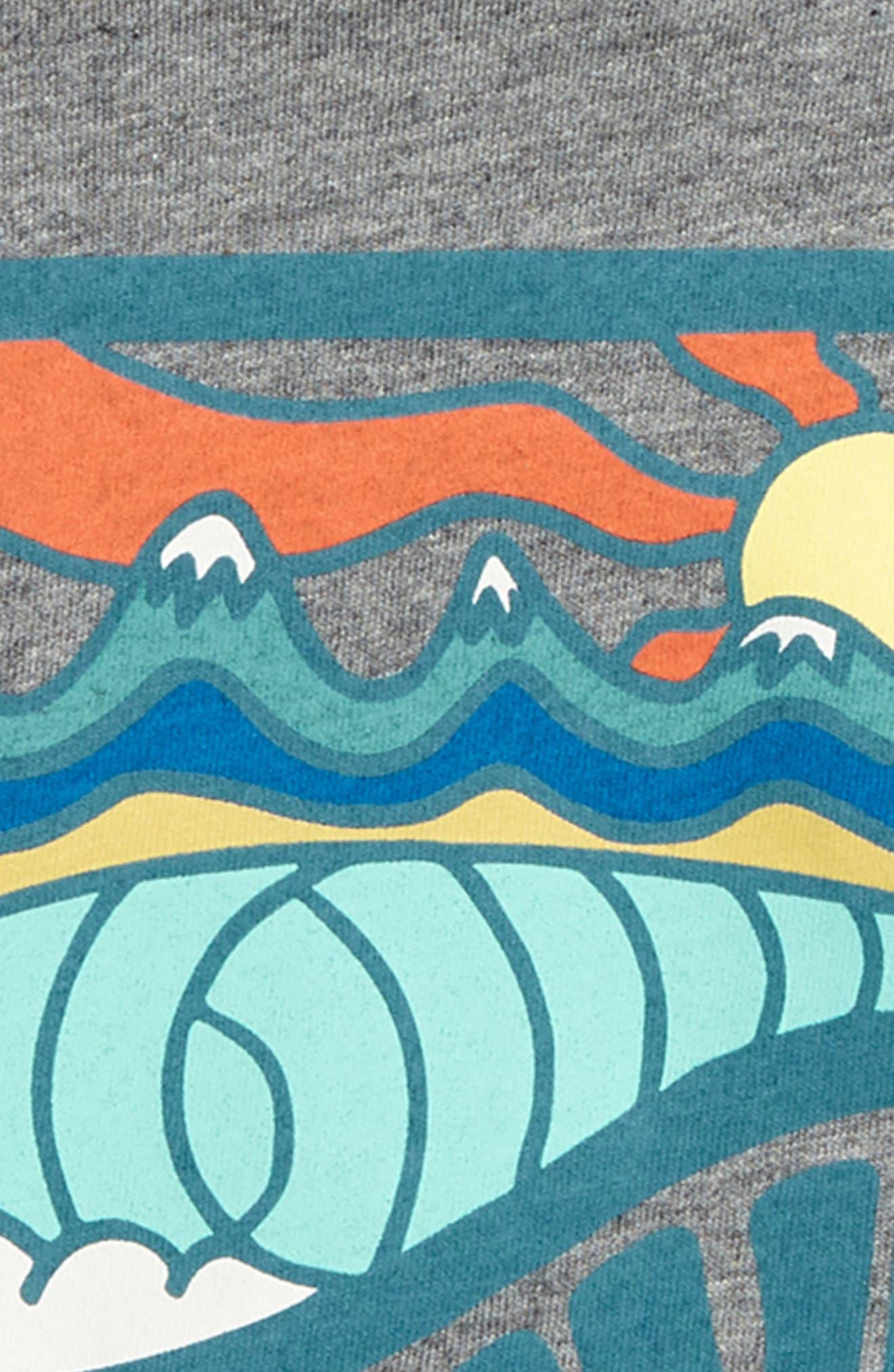 PATAGONIA, Graphic Organic Cotton T-Shirt, Alternate thumbnail 2, color, 022