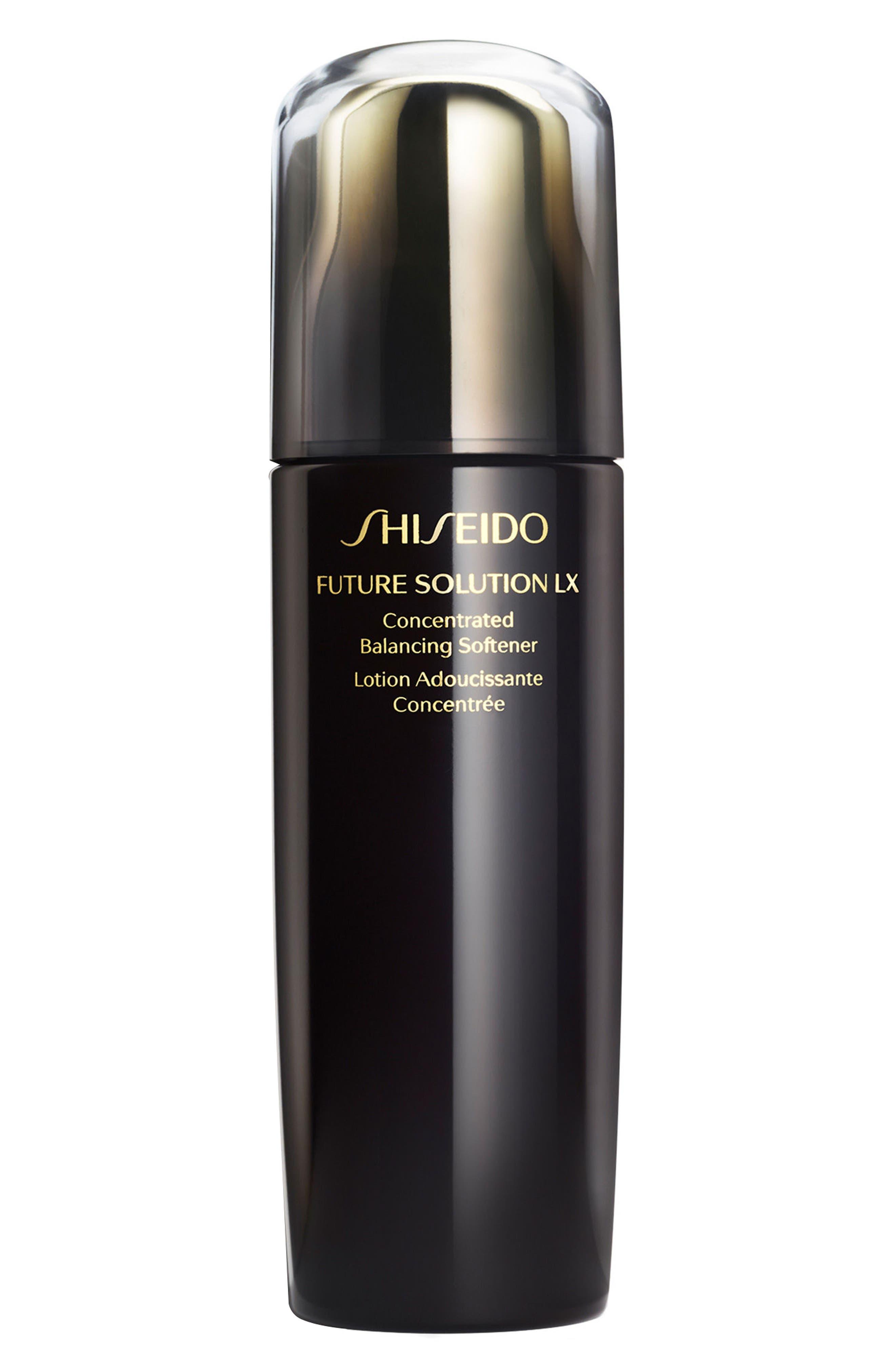 SHISEIDO, Future Solution LX Concentrated Balancing Softener, Main thumbnail 1, color, NO COLOR