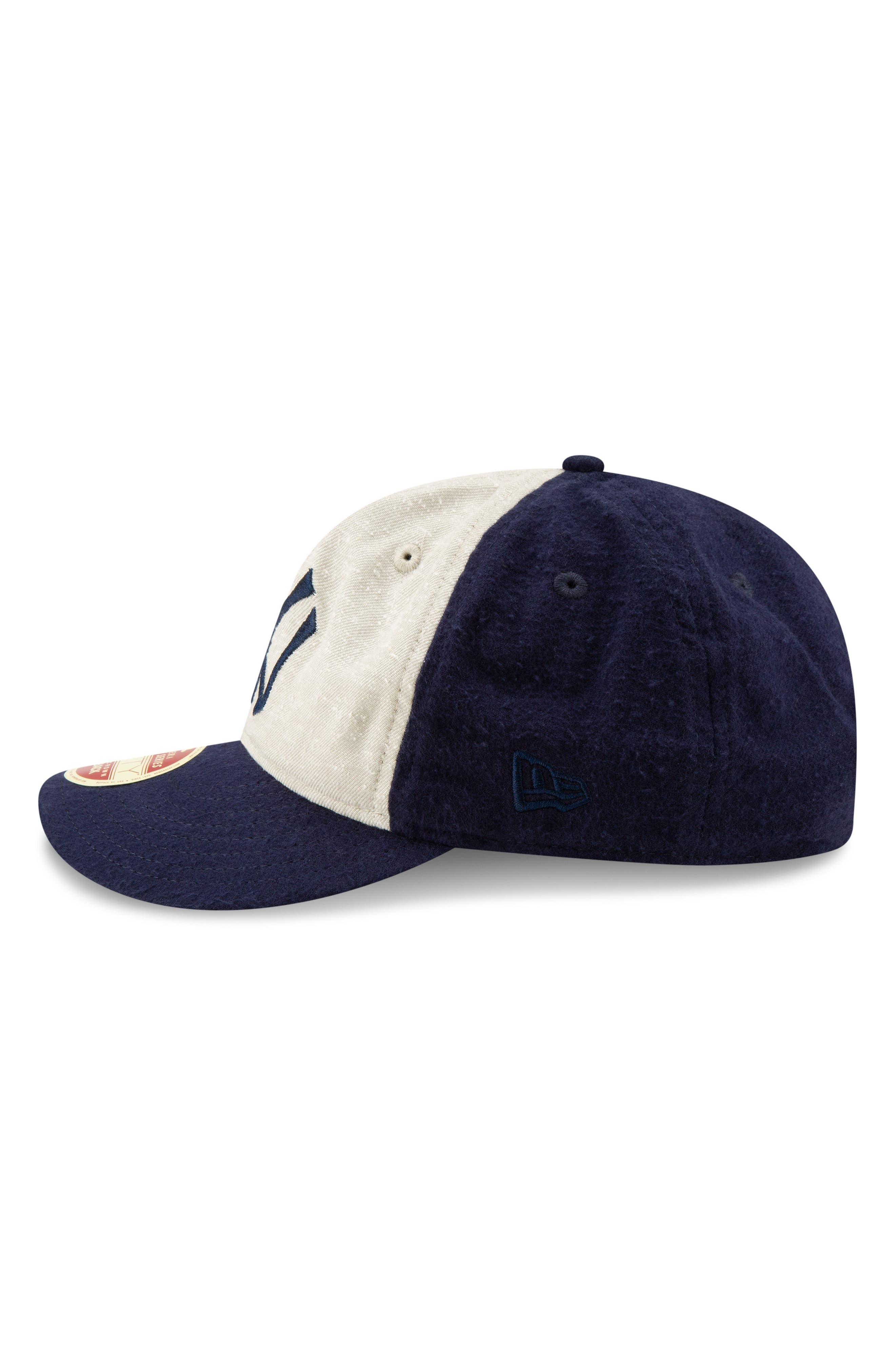 NEW ERA CAP, Vintage Slub Cap, Alternate thumbnail 6, color, YANKEES
