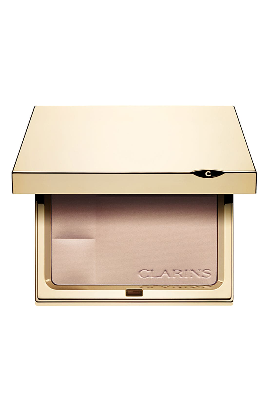 CLARINS Ever Matte Shine Control Mineral Powder Compact, Main, color, 01 TRANSPARENT FAIR