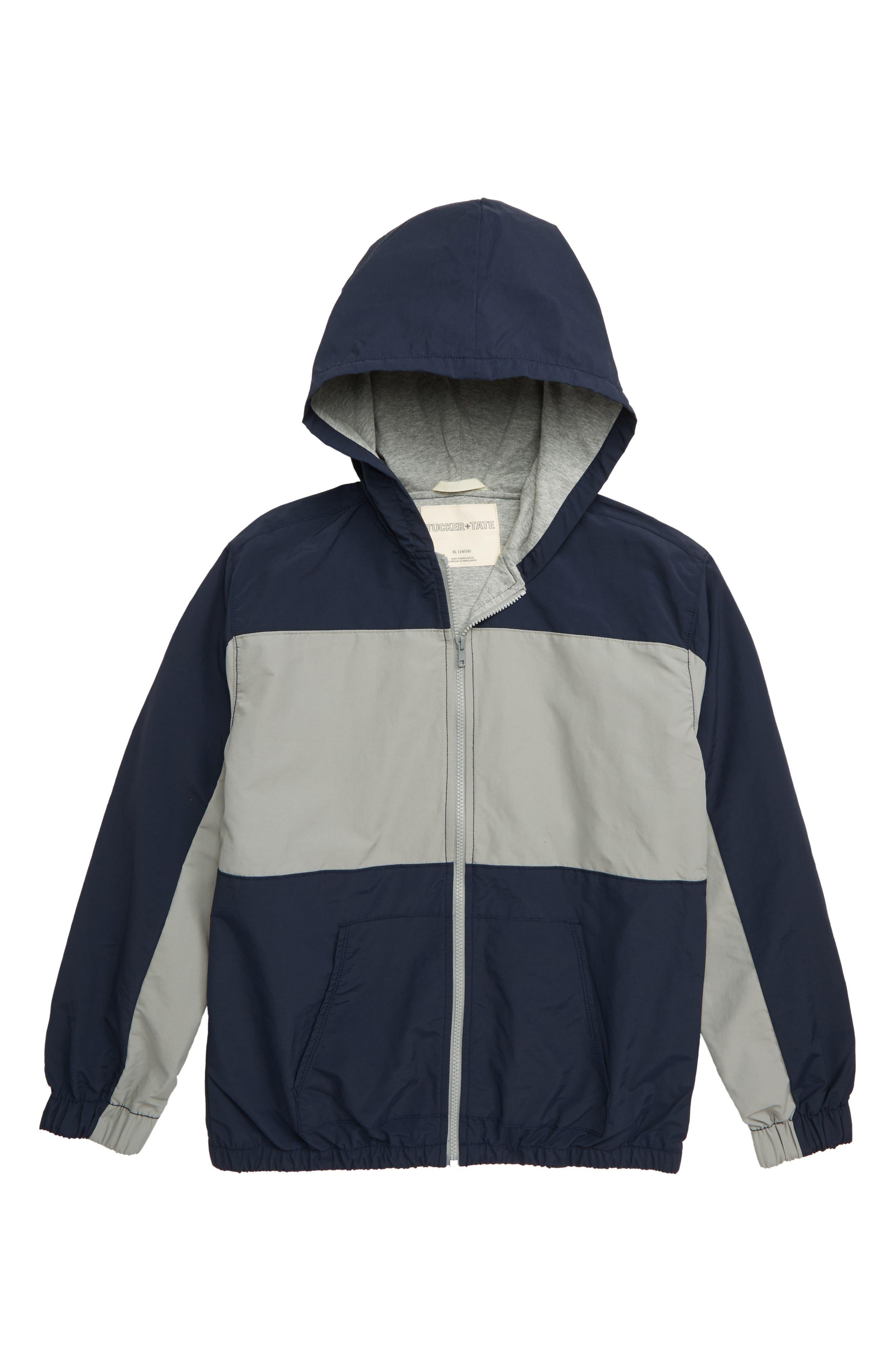 1968d1e1f10419 Boy s Tucker + Tate Get Outside Colorblock Hooded Jacket