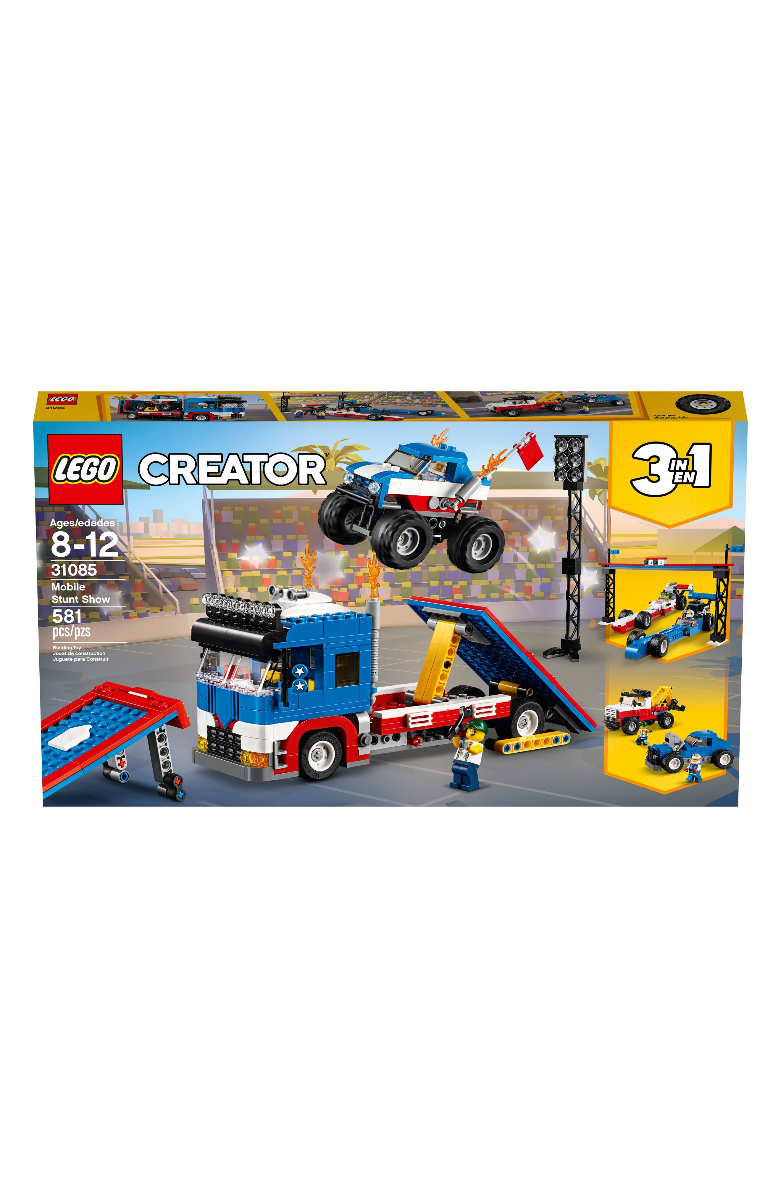 LEGO<SUP>®</SUP>, Creator Mobile Stunt Show - 31085, Alternate thumbnail 2, color, 960