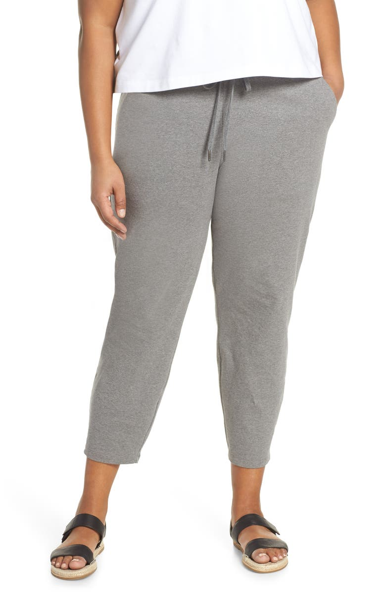 Eileen Fisher Pants SLOUCHY STRETCH ORGANIC COTTON ANKLE PANTS