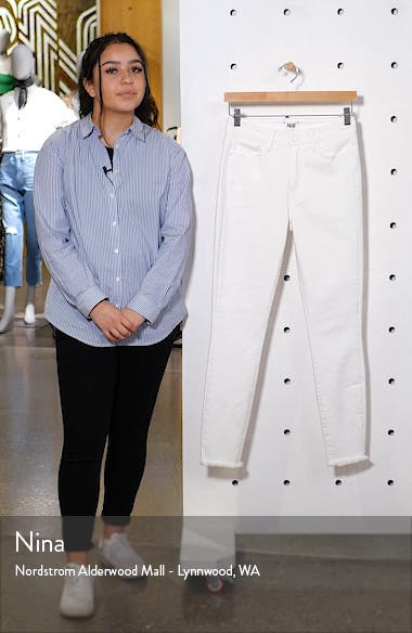 Hoxton High Waist Ankle Skinny Jeans, sales video thumbnail