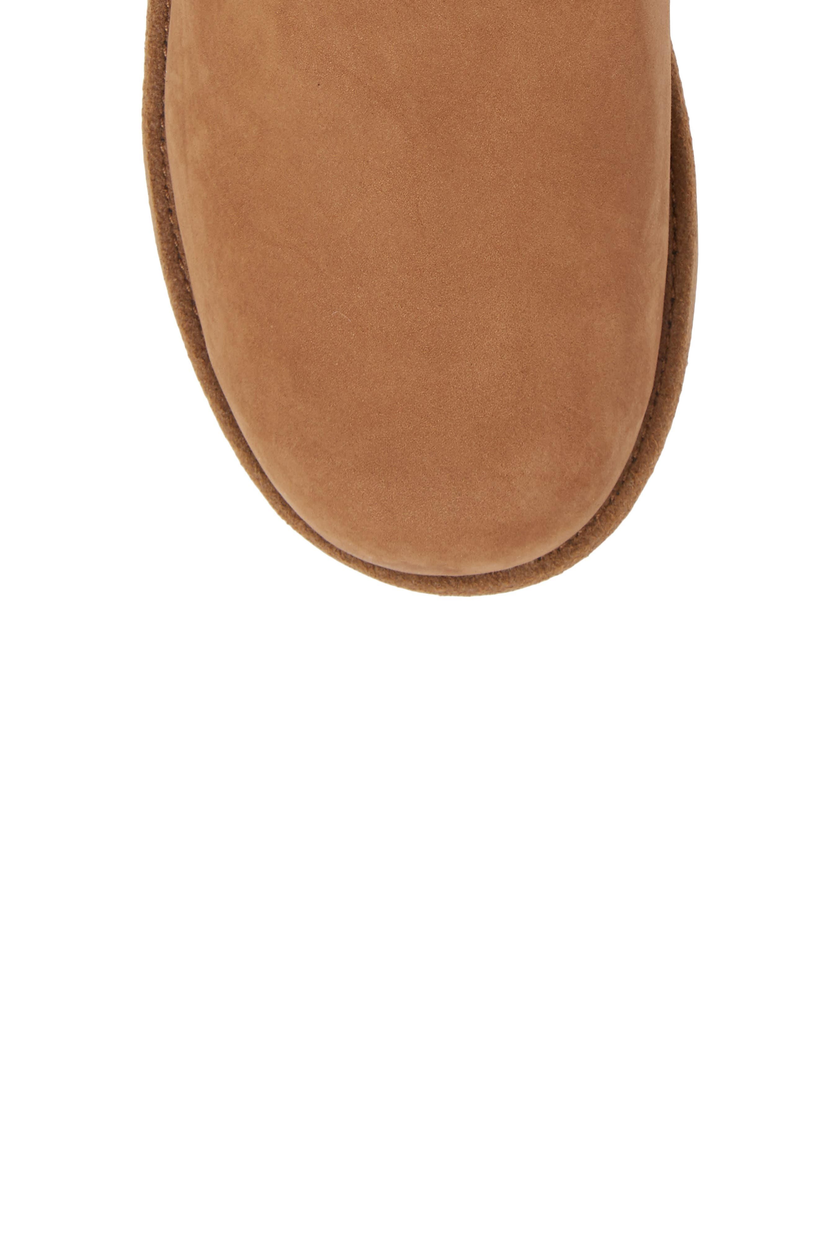 UGG<SUP>®</SUP>, Classic Short II Waterproof Boot, Alternate thumbnail 5, color, CHESTNUT