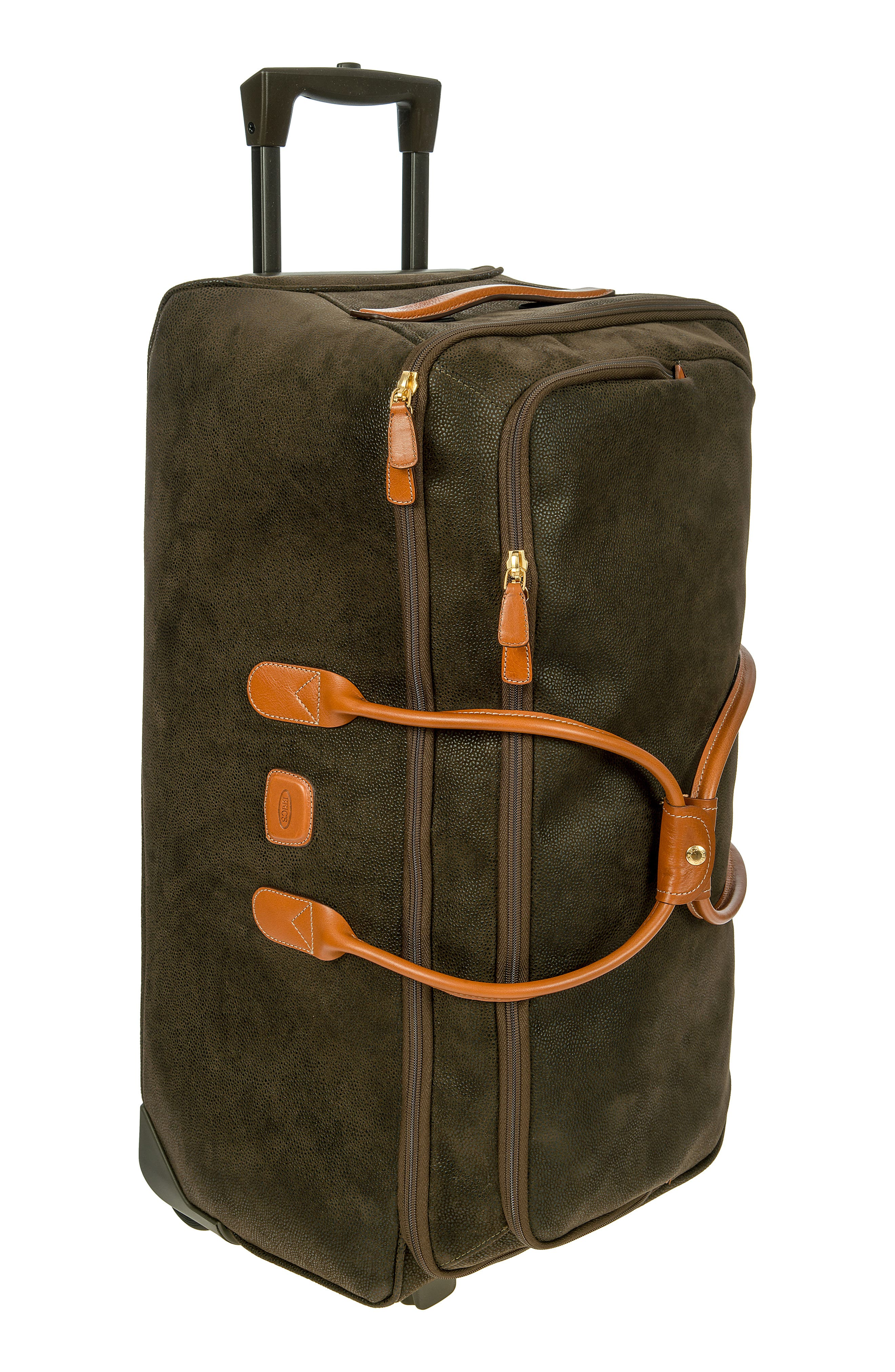 BRIC'S, Brics Life Collection 28-Inch Rolling Duffle Bag, Main thumbnail 1, color, OLIVE