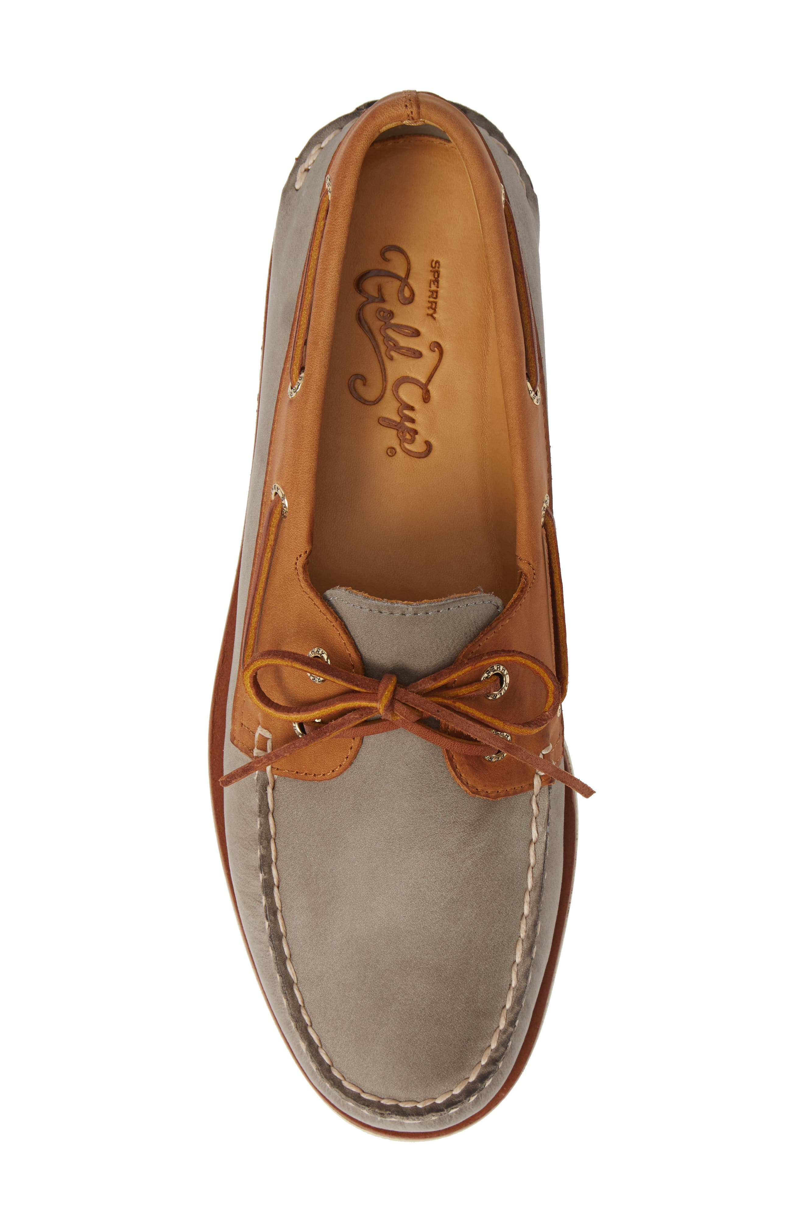 SPERRY, Gold Cup AO Boat Shoe, Alternate thumbnail 5, color, 020