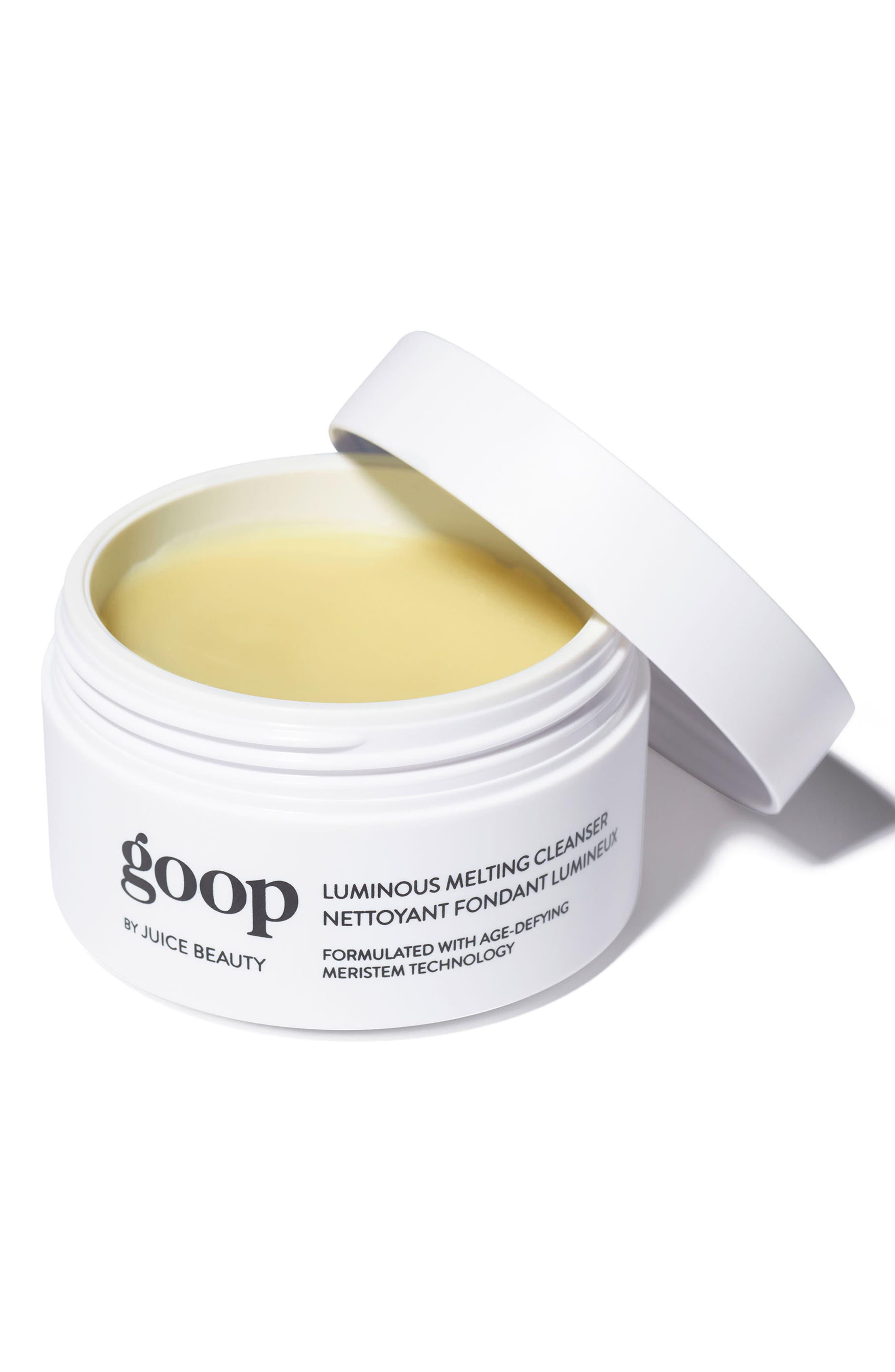 GOOP, by Juice Beauty Luminous Melting Cleanser, Alternate thumbnail 2, color, 000