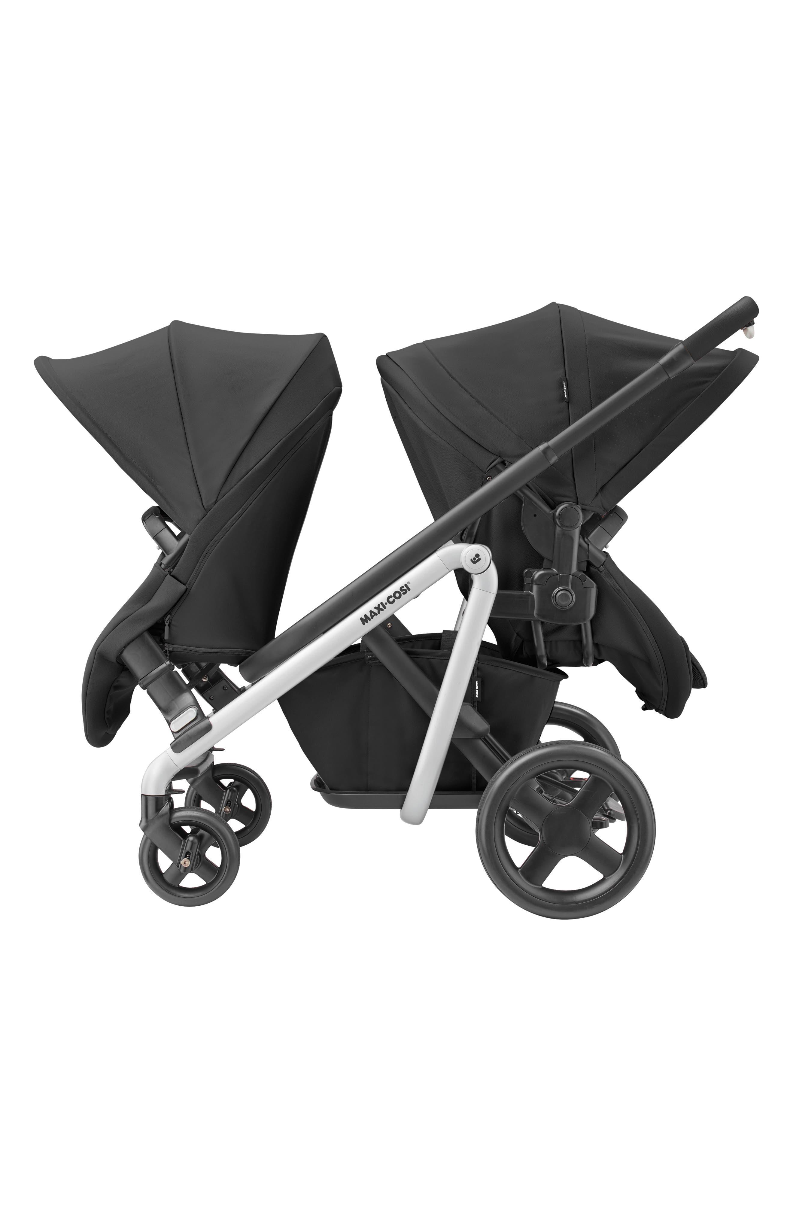 MAXI-COSI<SUP>®</SUP>, Lila Modular Stroller, Alternate thumbnail 10, color, NOMAD BLACK