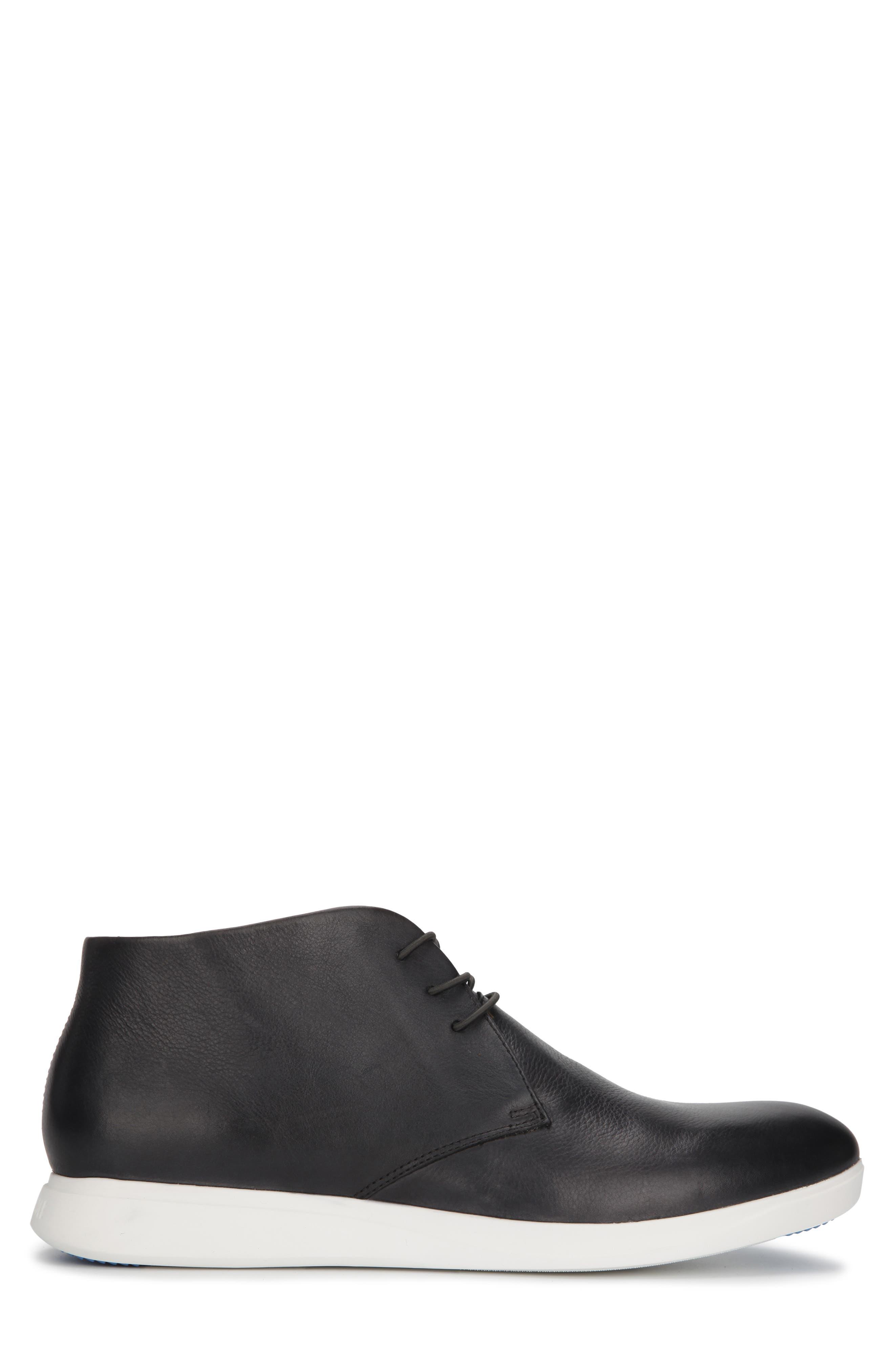 KENNETH COLE NEW YORK, Rocketpod Chukka Sneaker, Alternate thumbnail 2, color, GREY TUMBLED LEATHER