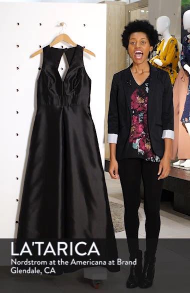 Sleeveless Sateen Gown, sales video thumbnail