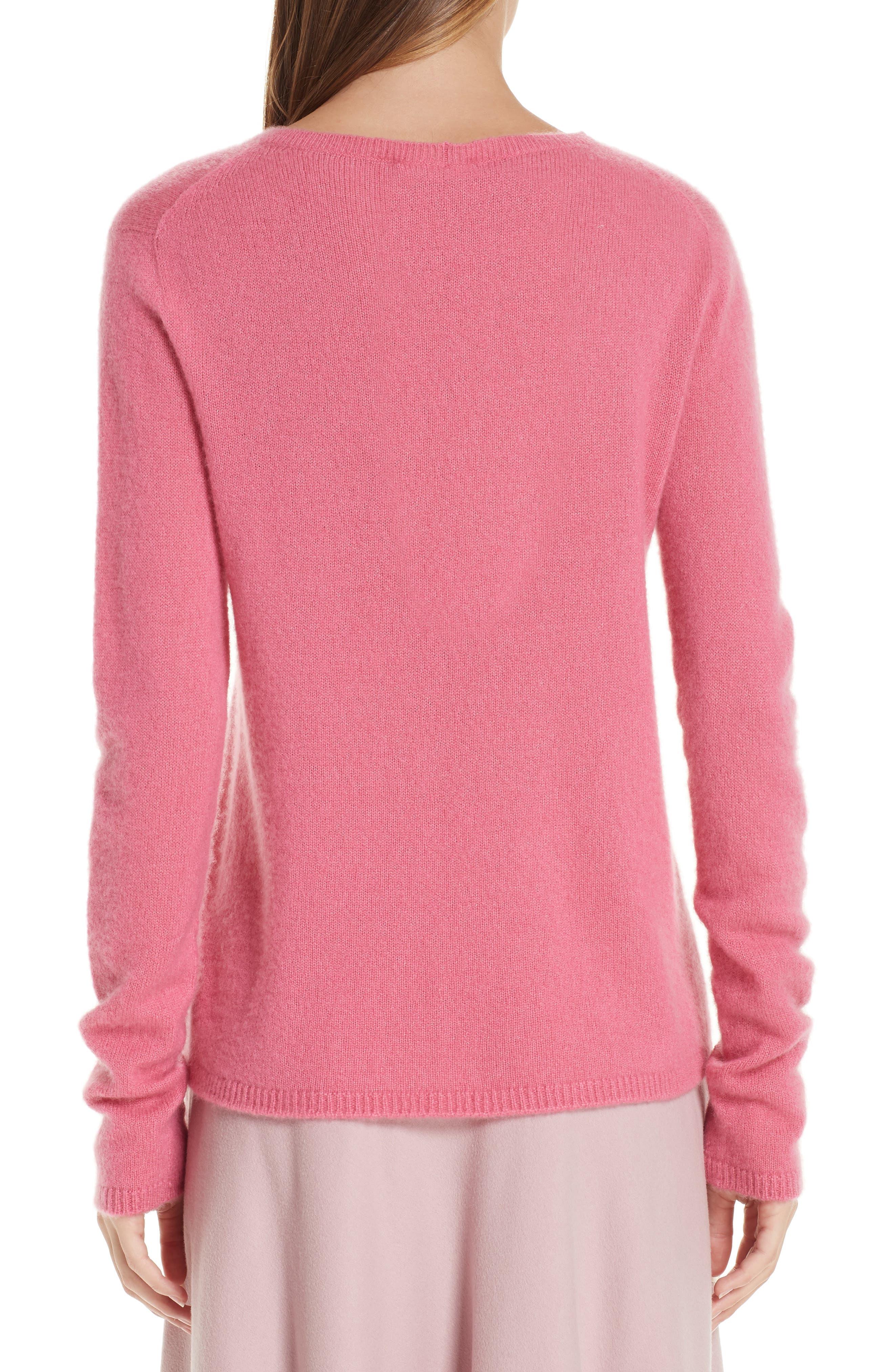 MAX MARA, Stelvio Cashmere & Silk Sweater, Alternate thumbnail 2, color, 672