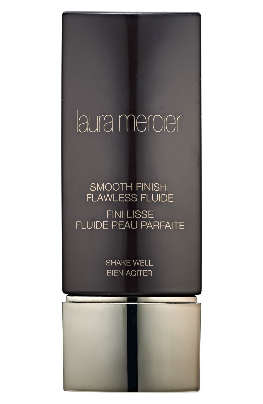 LAURA MERCIER, Smooth Finish Flawless Fluide Foundation, Main thumbnail 1, color, 100