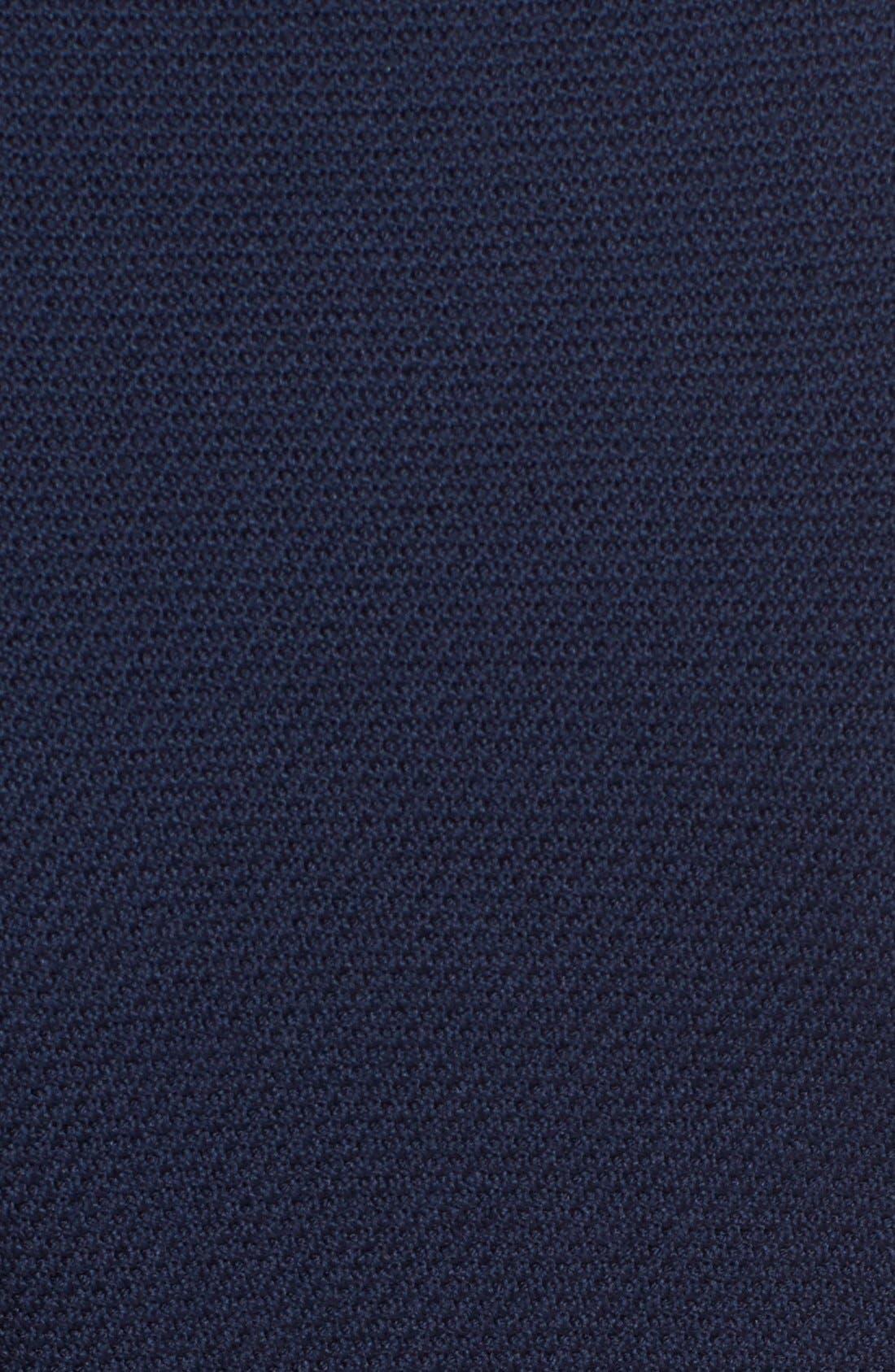 ST. JOHN COLLECTION, Micro Bouclé Knit Jacket, Alternate thumbnail 5, color, NAVY