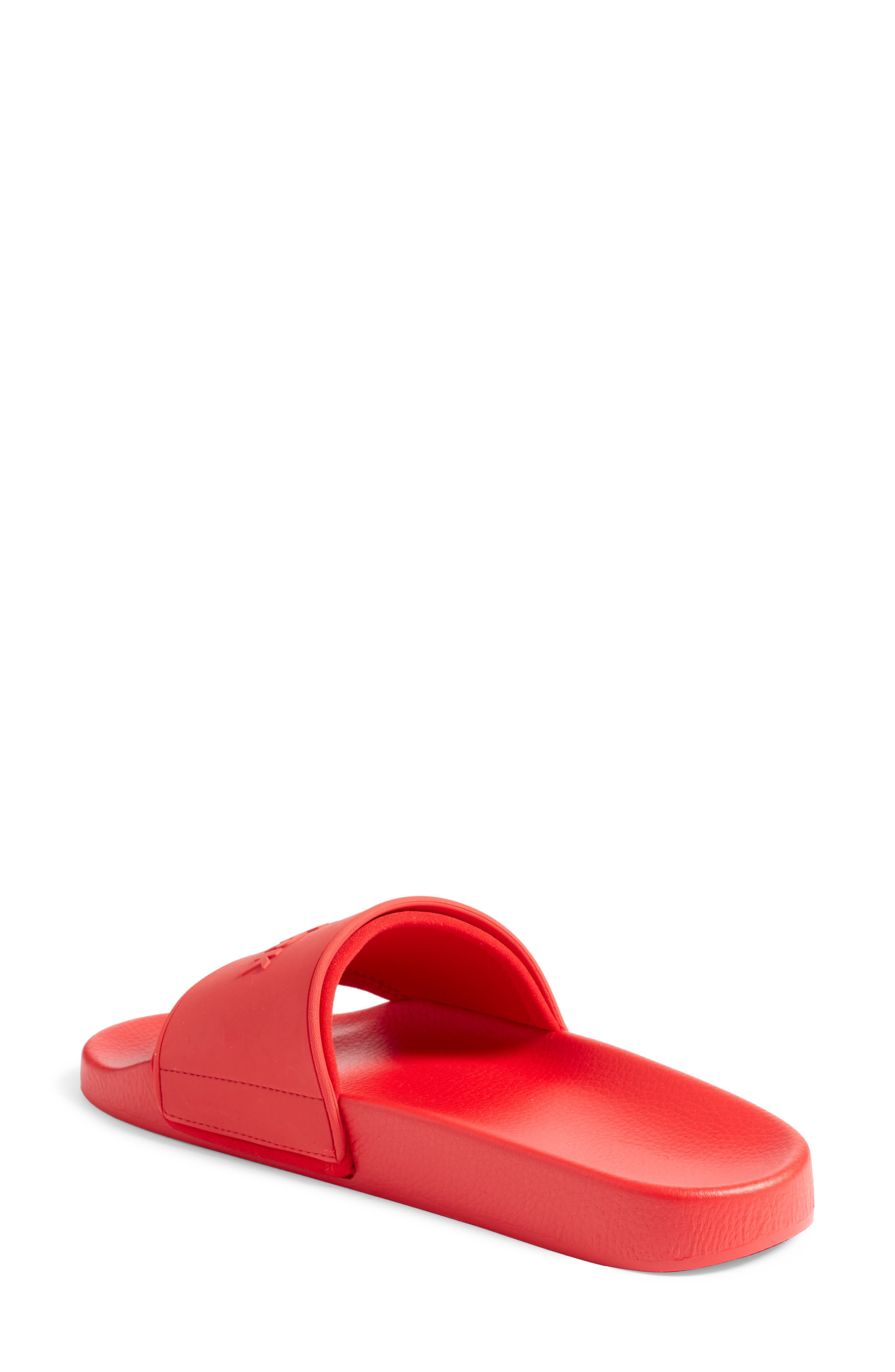 IVY PARK<SUP>®</SUP>, Embossed Logo Slide Sandal, Alternate thumbnail 2, color, 600