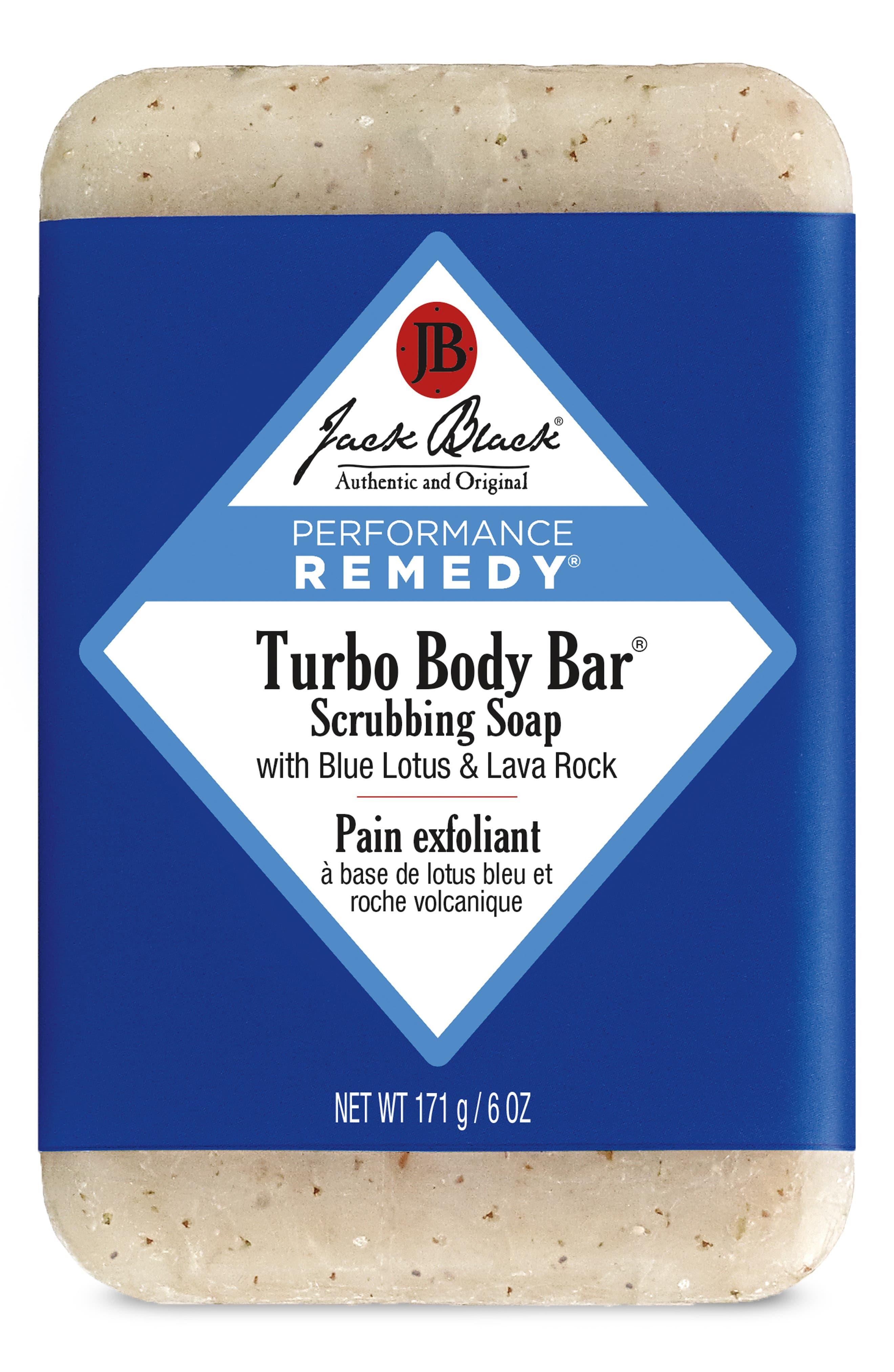 JACK BLACK, Turbo Body Bar Scrubbing Soap, Alternate thumbnail 2, color, NO COLOR