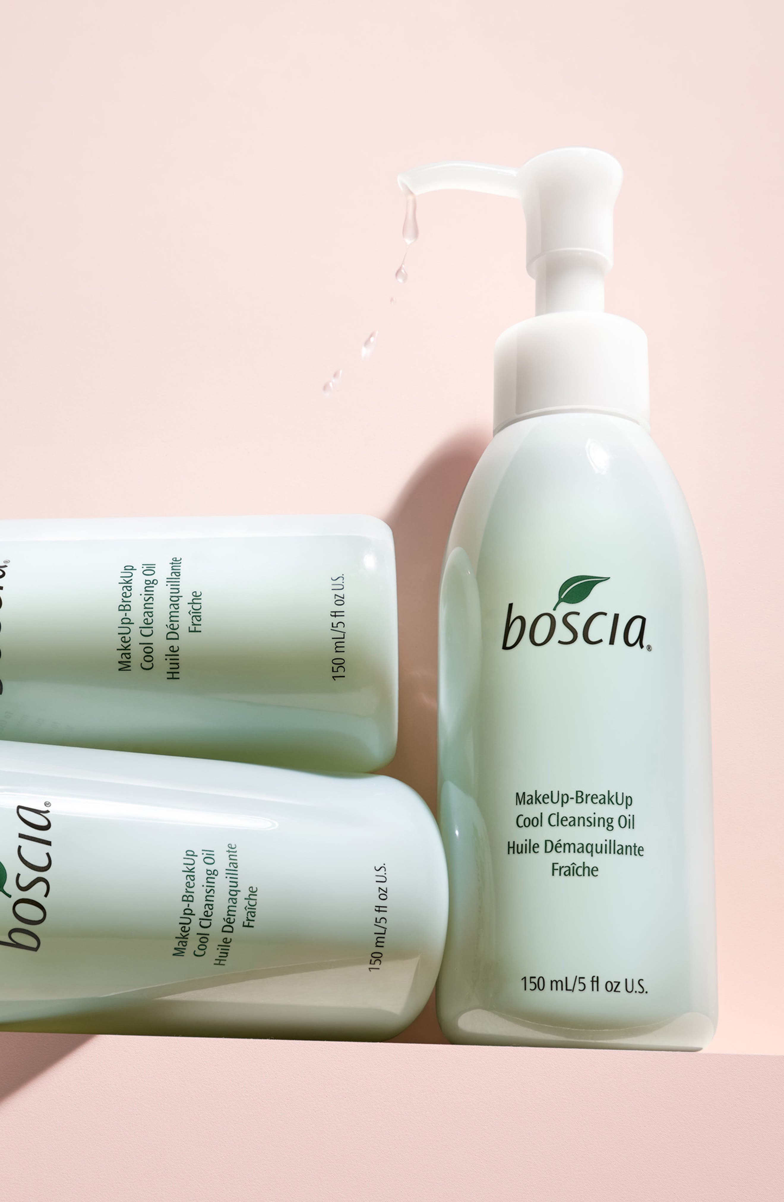 BOSCIA, MakeUp-BreakUp Cool Cleansing Oil, Alternate thumbnail 5, color, NO COLOR
