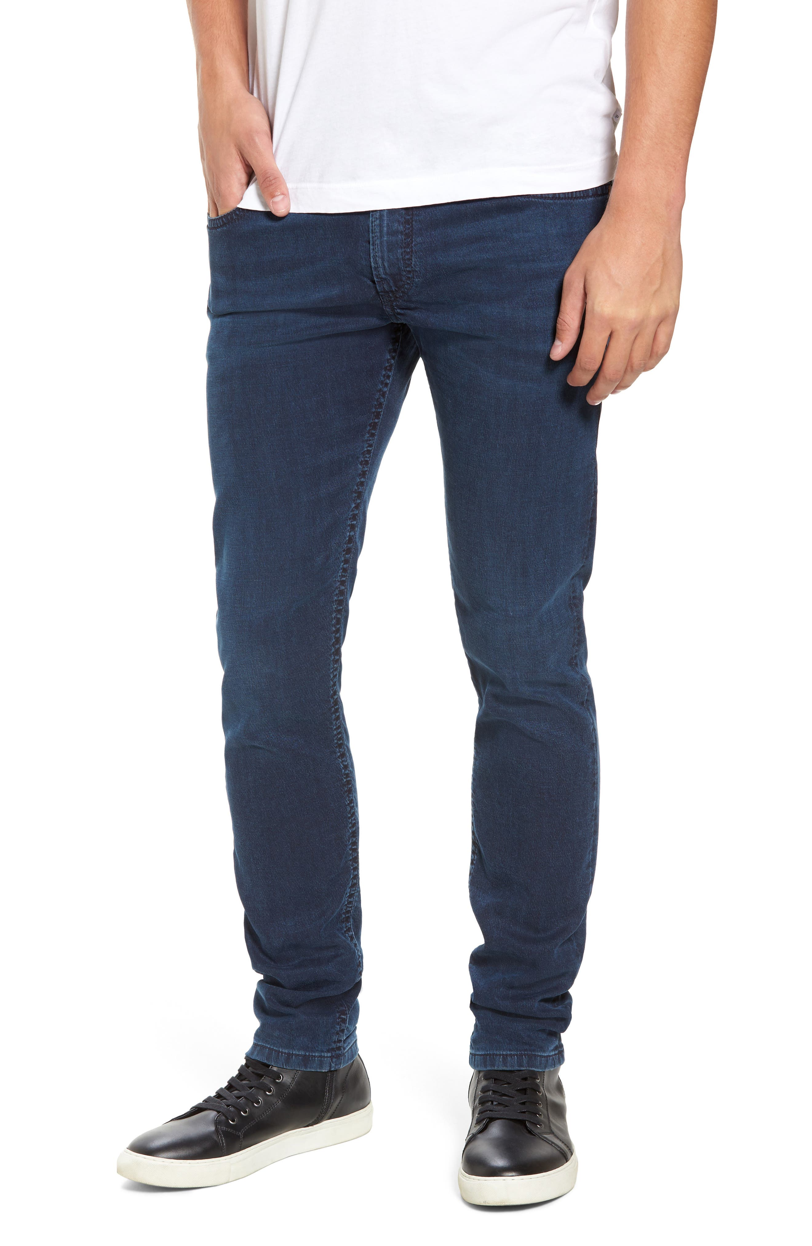 DIESEL<SUP>®</SUP>, Thommer Slim Fit Jeans, Main thumbnail 1, color, 0688J